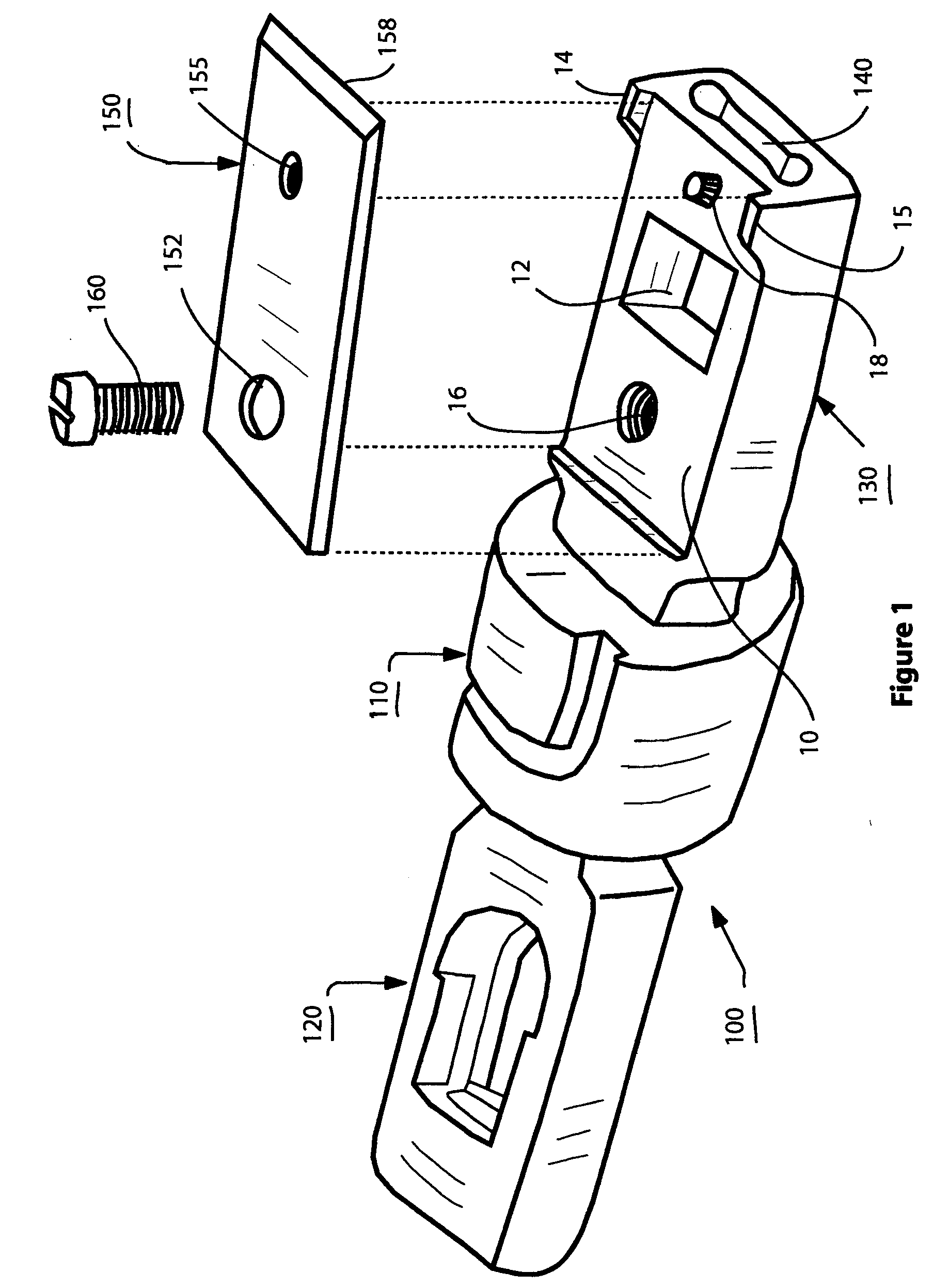 patent us20060242840 wire end insert 66 tool with replaceable Punch Down Block Wiring patent drawing