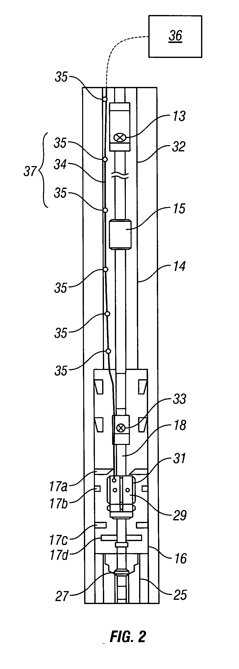 patent us20060245469 - subsea and landing string distributed temperature sensor system