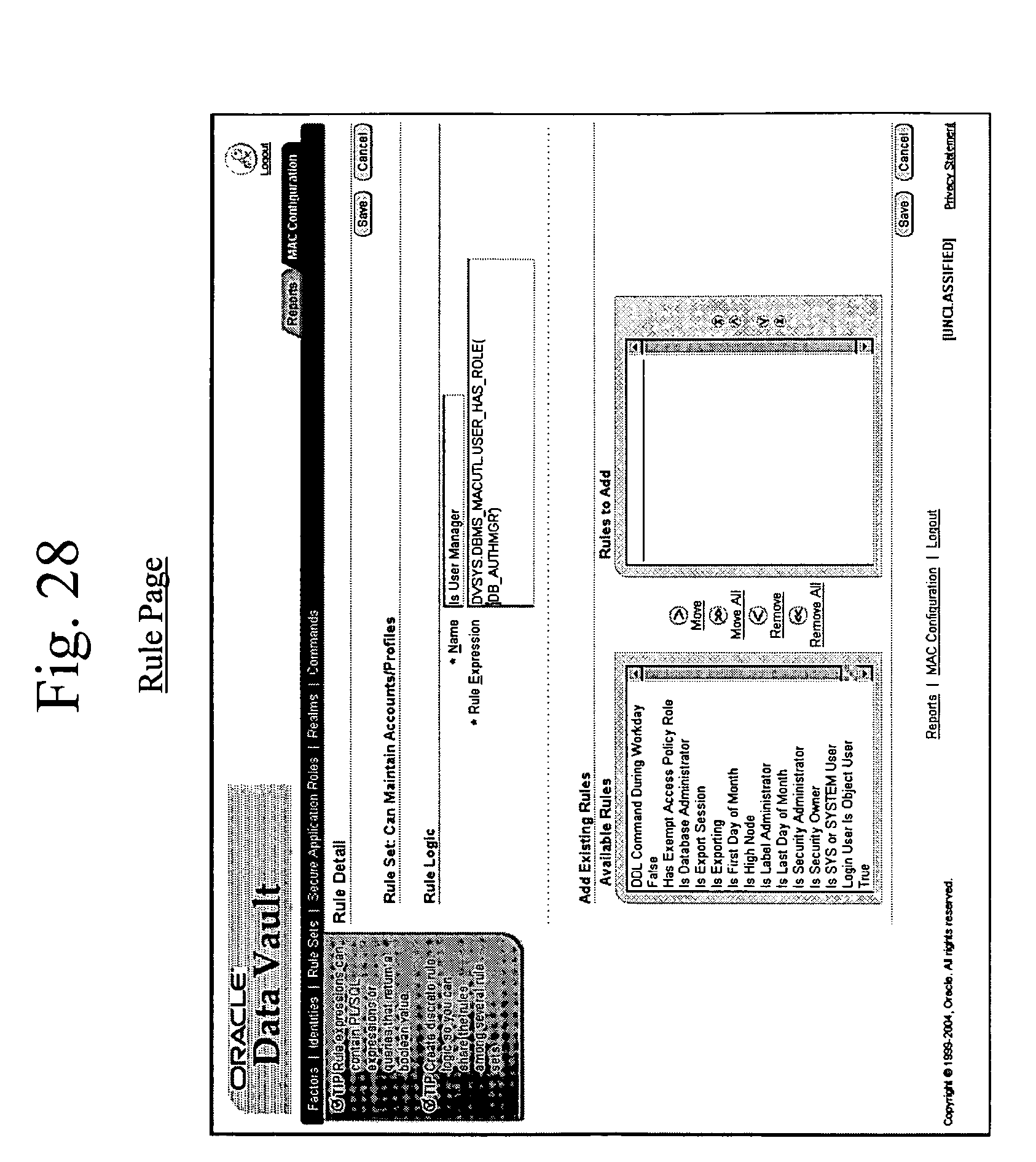 Patent Us20060248083 Mandatory Access Control Base Google Patents Database Security And Authorization Dbms Drawing