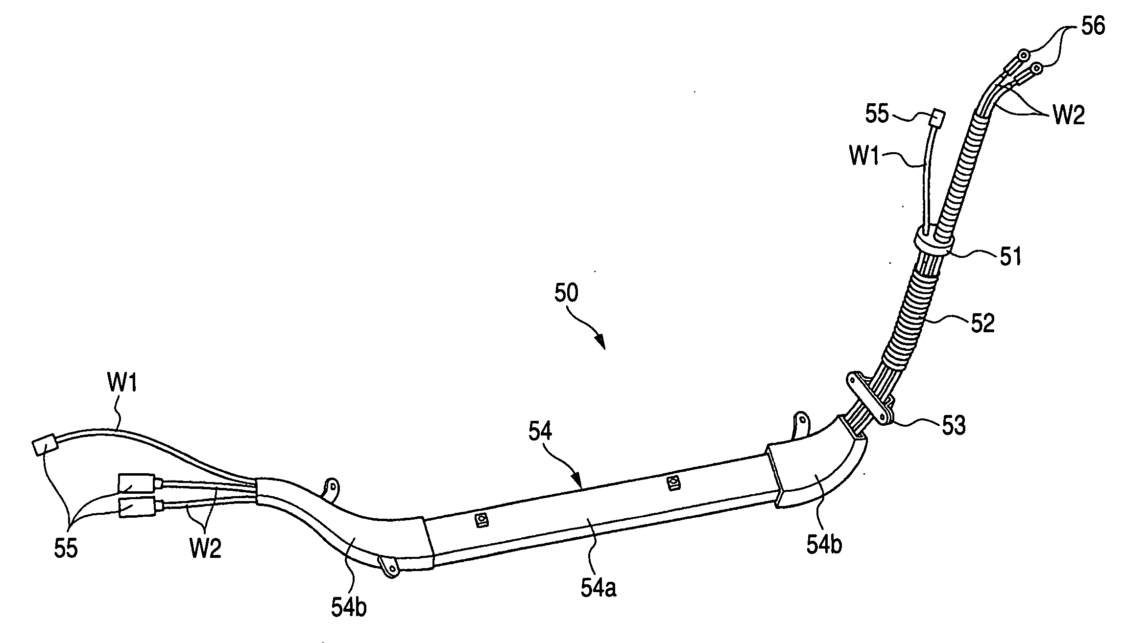 patent us20060278423 - high-voltage wire harness