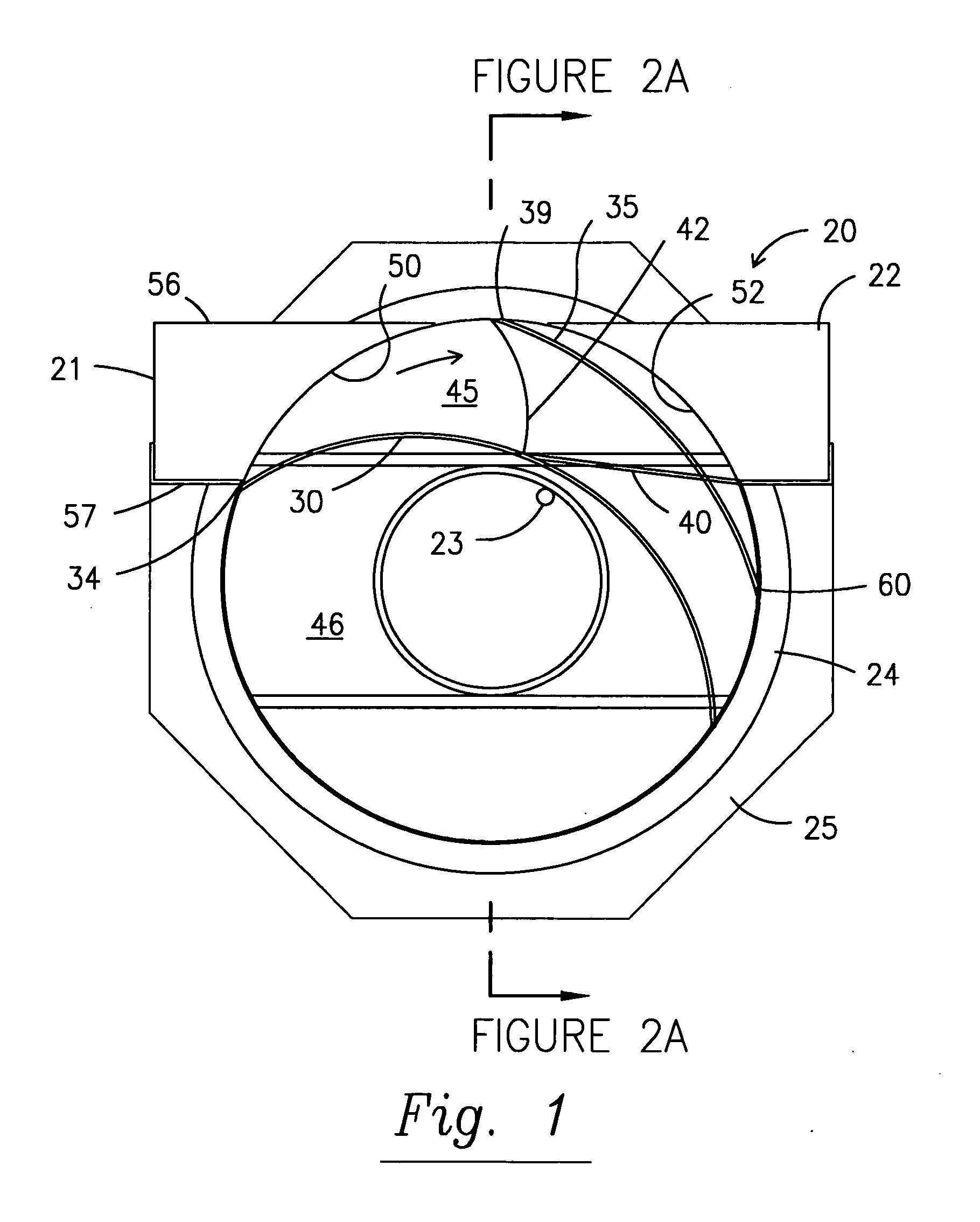 patent us20060283814 gravitational separator and apparatus for Small Water Sand Separator patent drawing