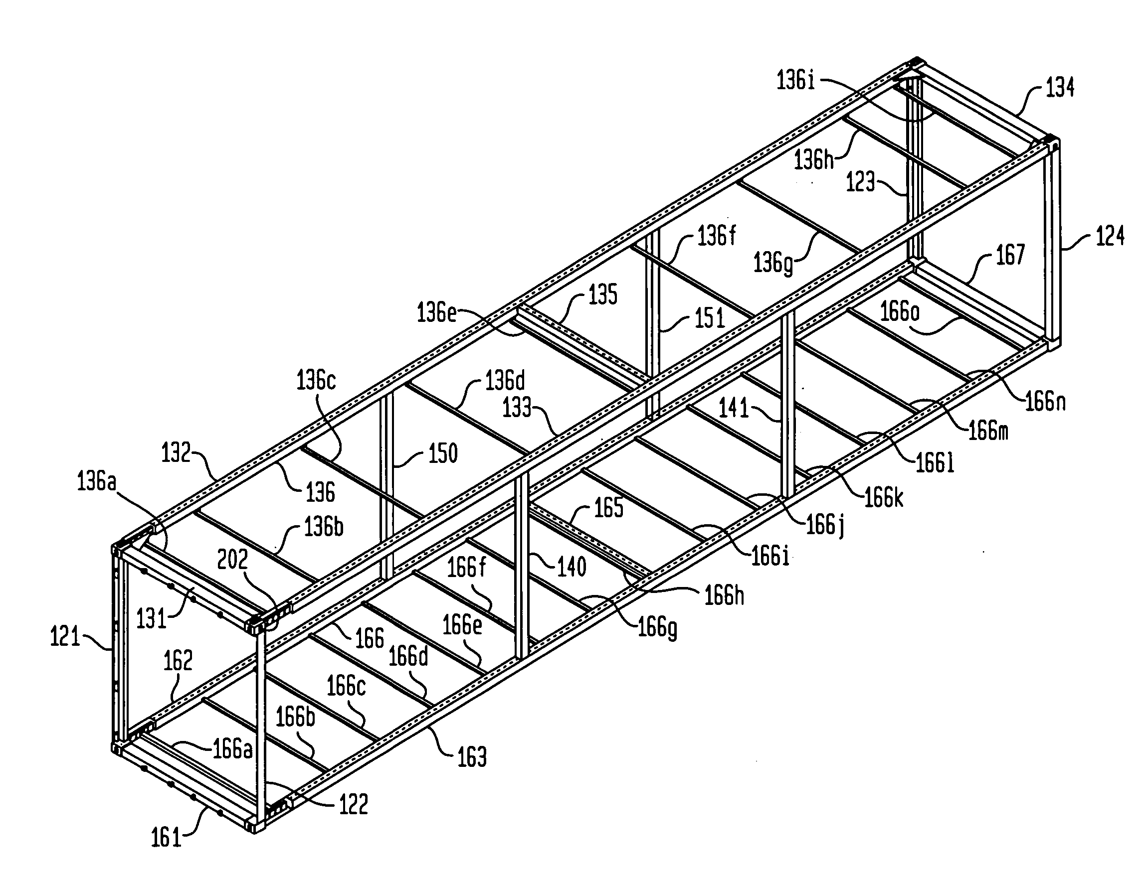 Patent US20070000921 One way Cargo Container Google