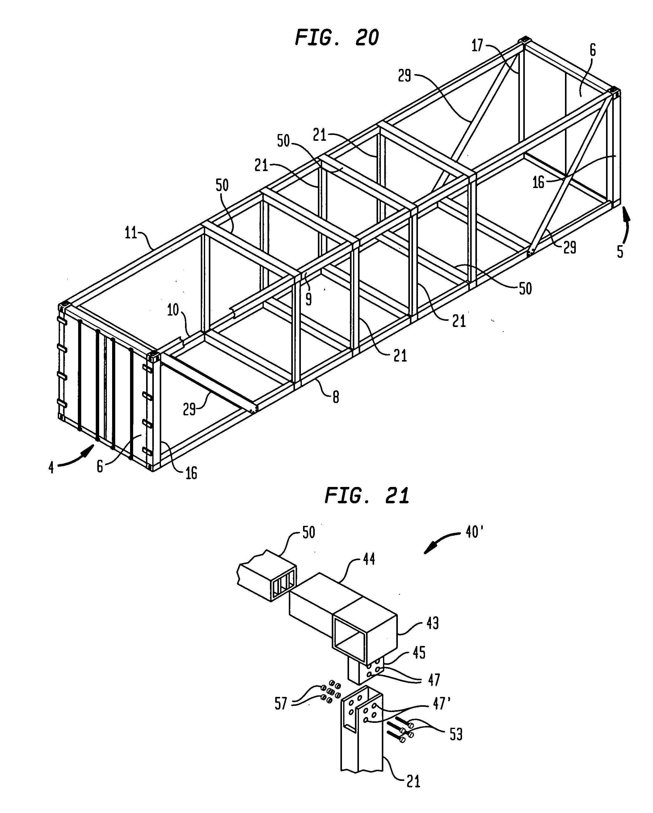 Us A D on drawing intermodal shipping container dimensions
