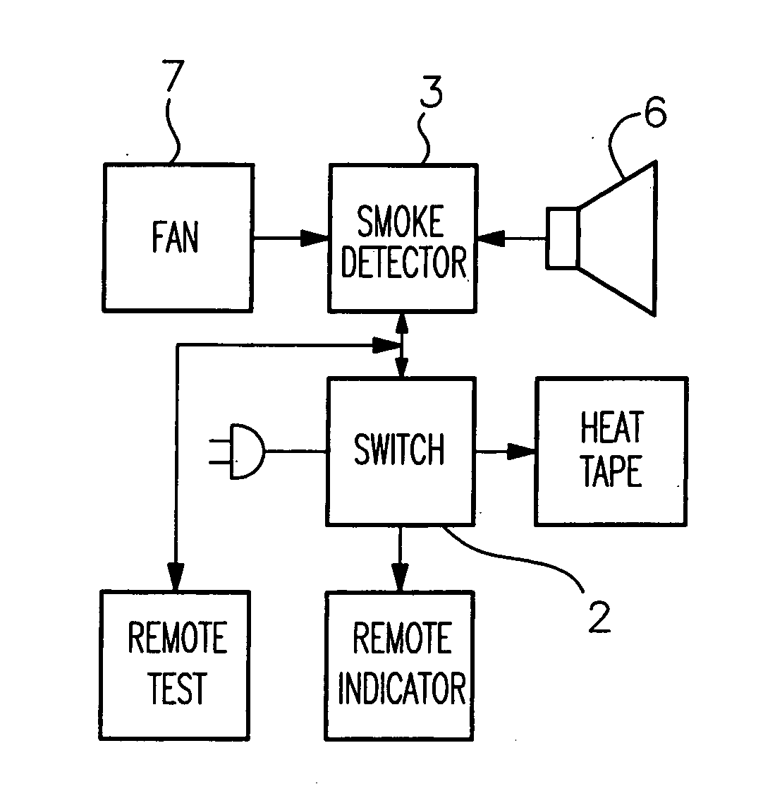 patent us20070001865 - smoke detector