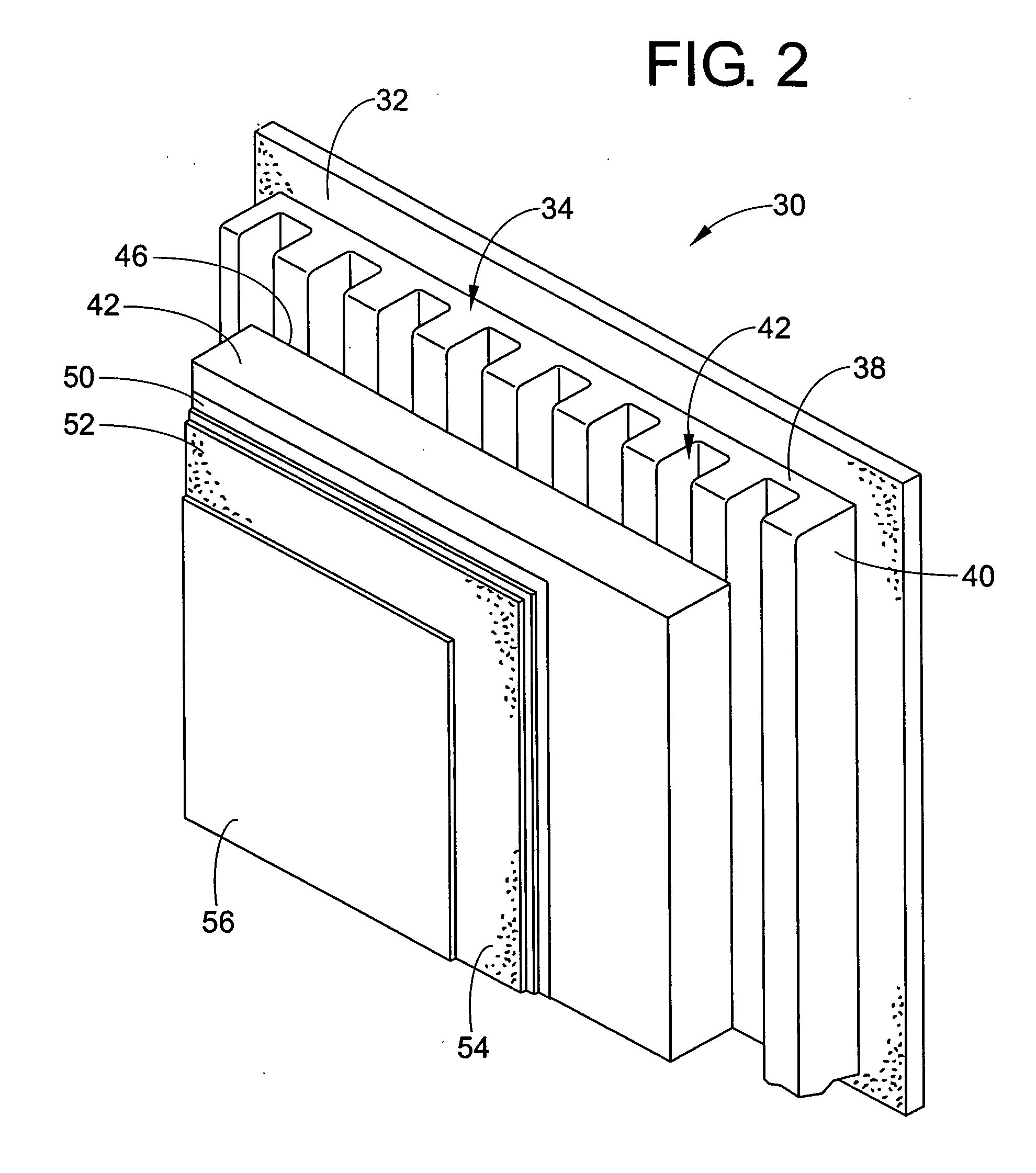 Patent us20070011986 exterior insulation and finish for Exterior insulation and finish system