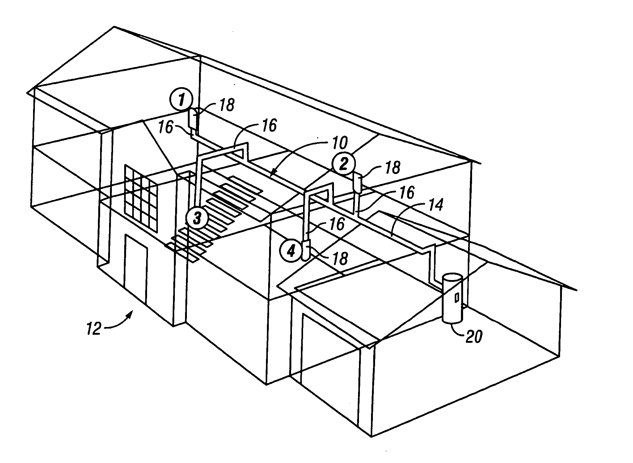 patent us20070022560 central vacuum system and method for Mettler-Toledo Master Static patent drawing
