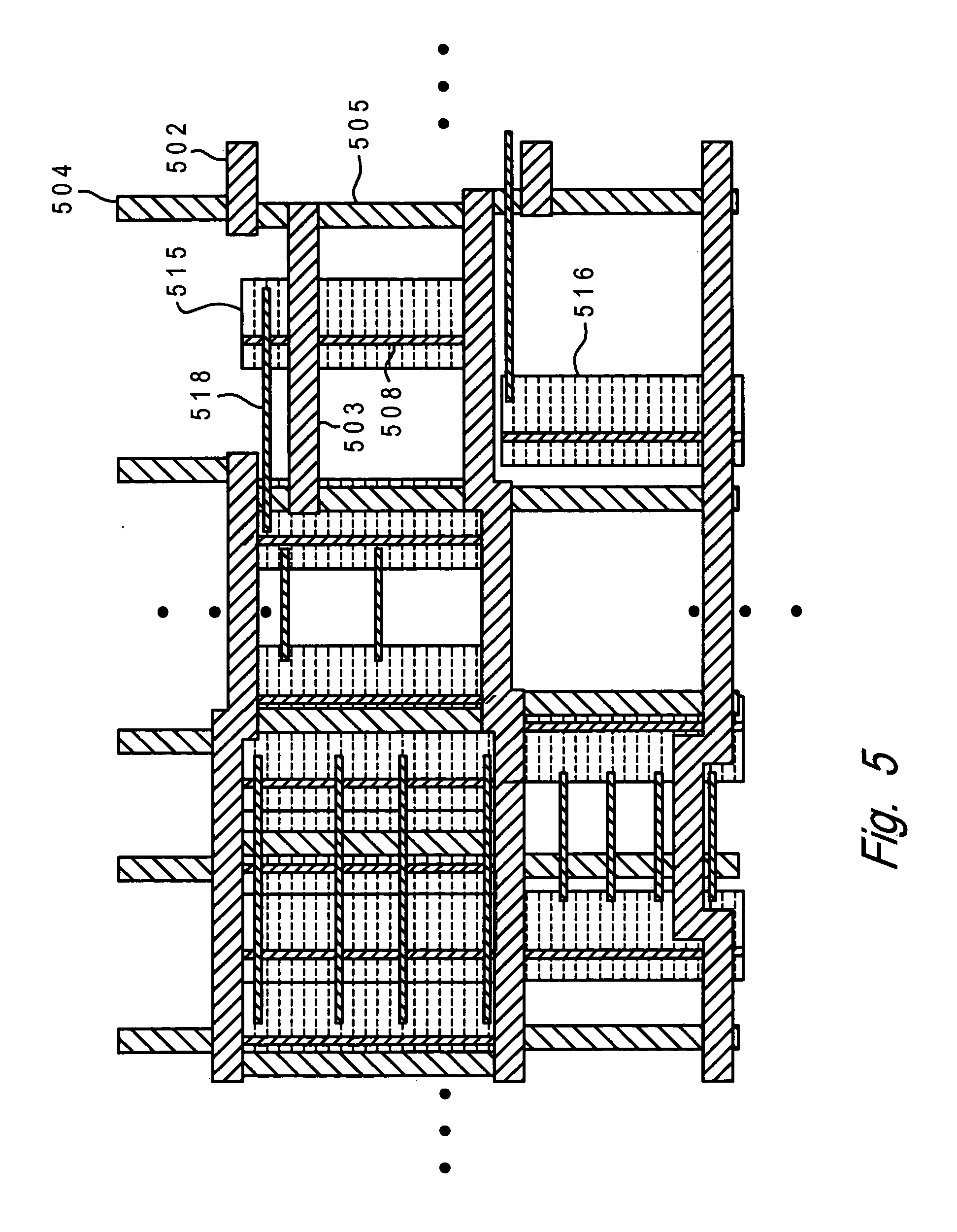 Patent Us20070033562 Integrated Circuit Power Distribution Layout Vertical Ic Pin Out Data Drawing