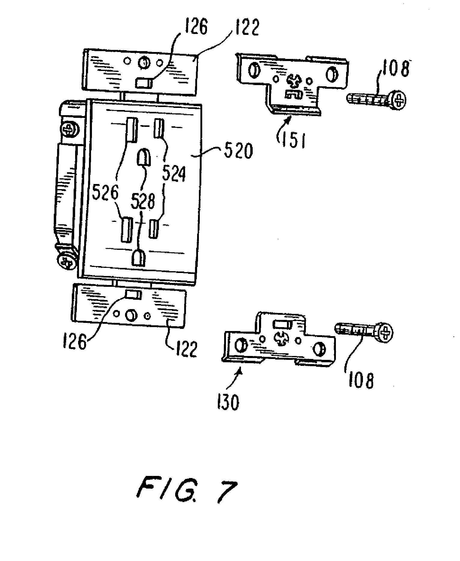 patent us20070095642 rocker paddle switch with semi rigid cam Plug and Switch Wiring Diagram patent drawing