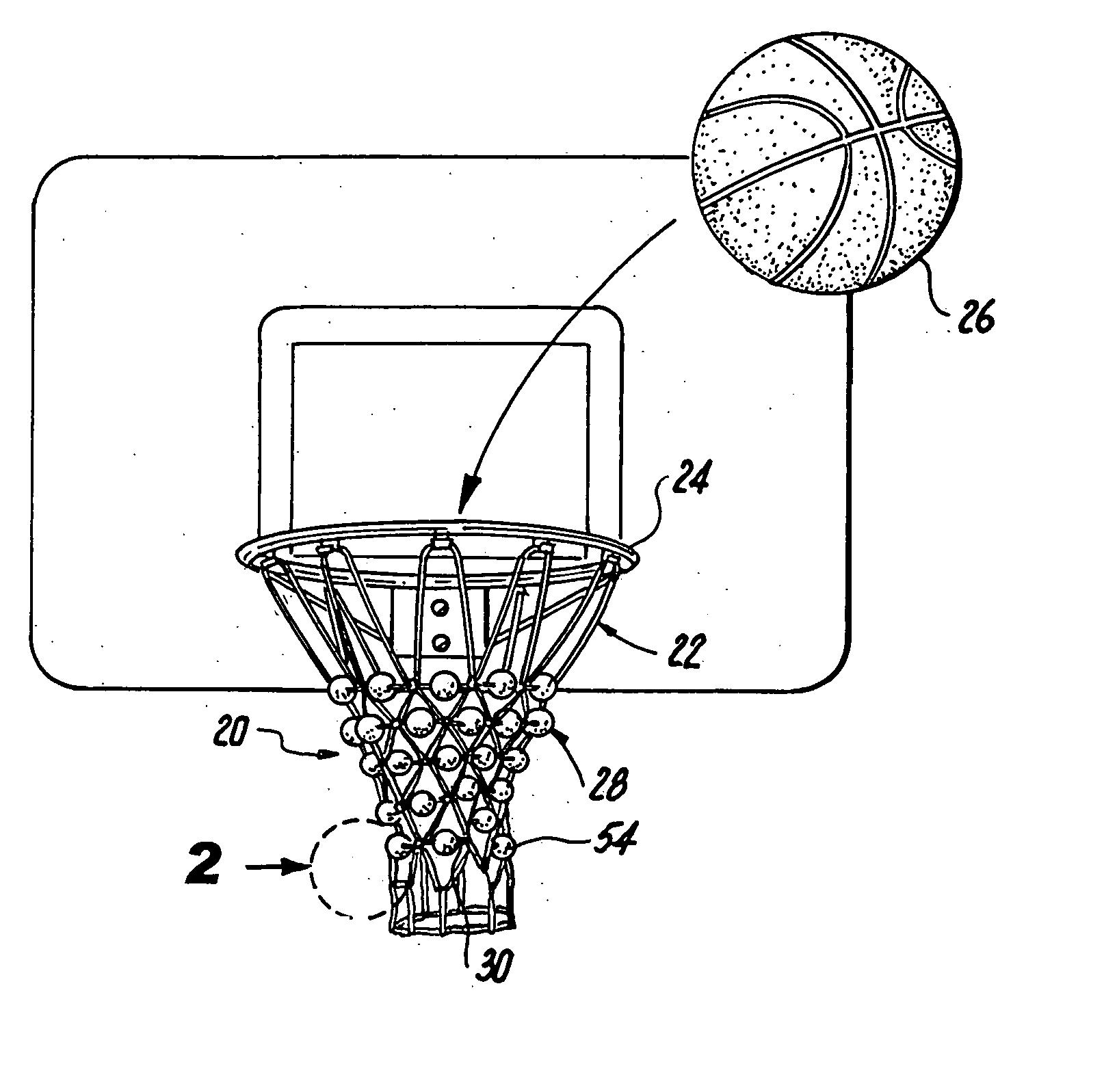 Basketball Net Drawing