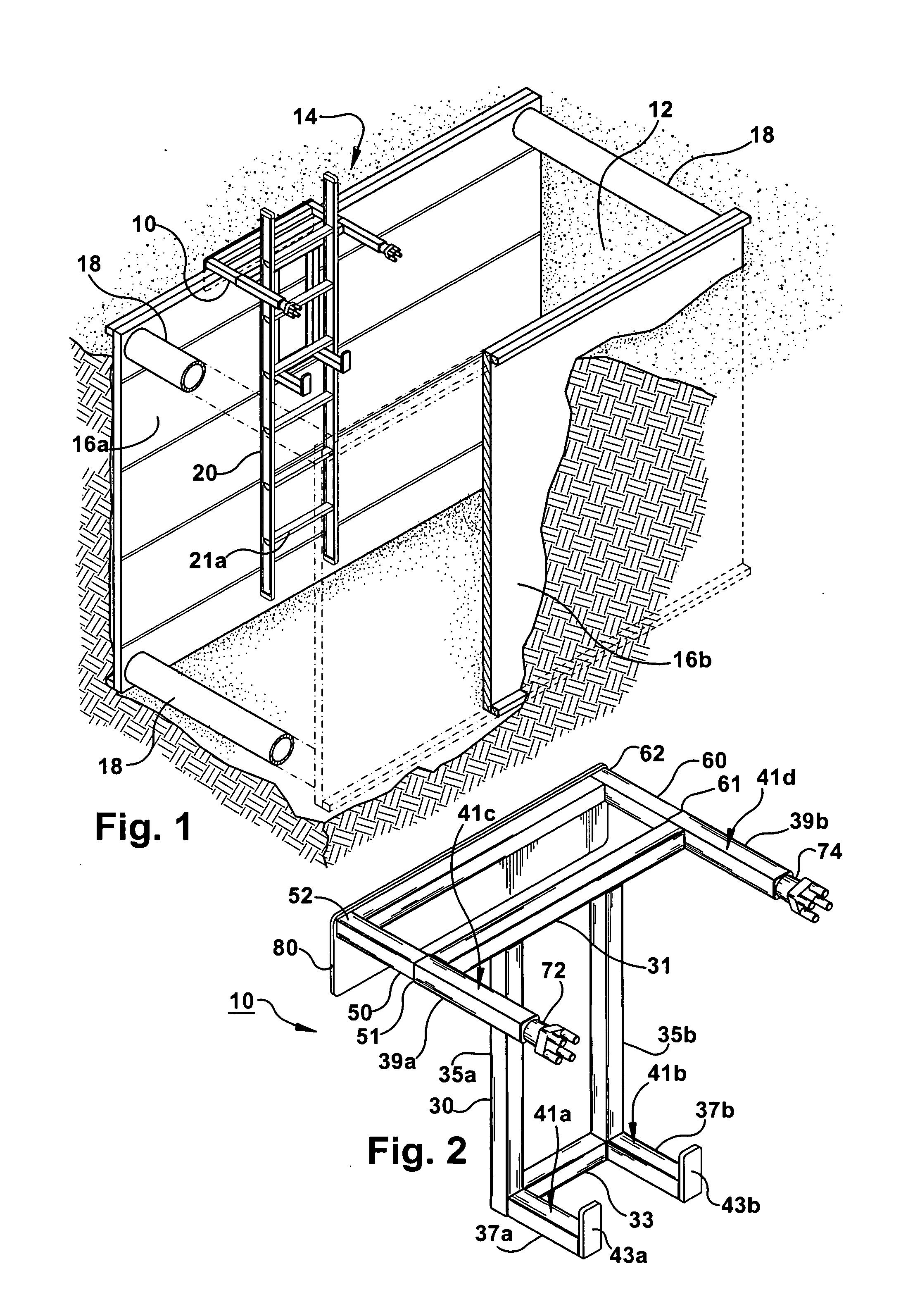 Patent Us20070175699 Ladder Bracket Google Patents