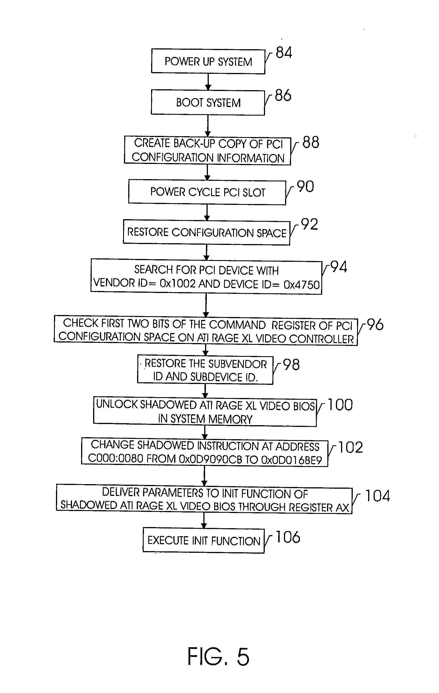 براءة الاختراع US20070192582 - Techniques for initializing a device