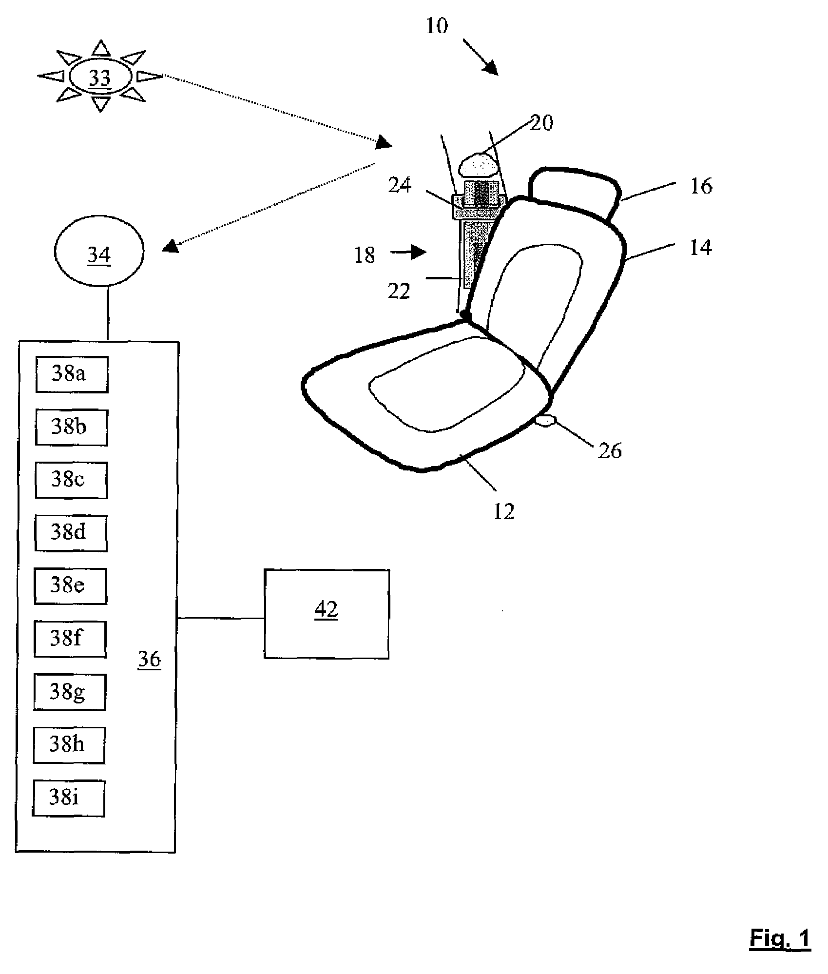 Patent Us20070195990 Vision Based Seat Belt Detection System The Here Is Diagram Showing Twist Drawing