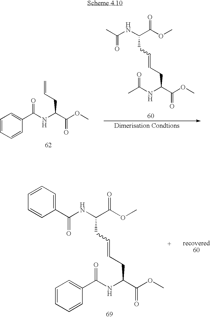solid phase cross metathesis We have carried out a comparative activity study of these solid-phase supported olefin metathesis polystyrene-supported olefin metathesis catalysts.