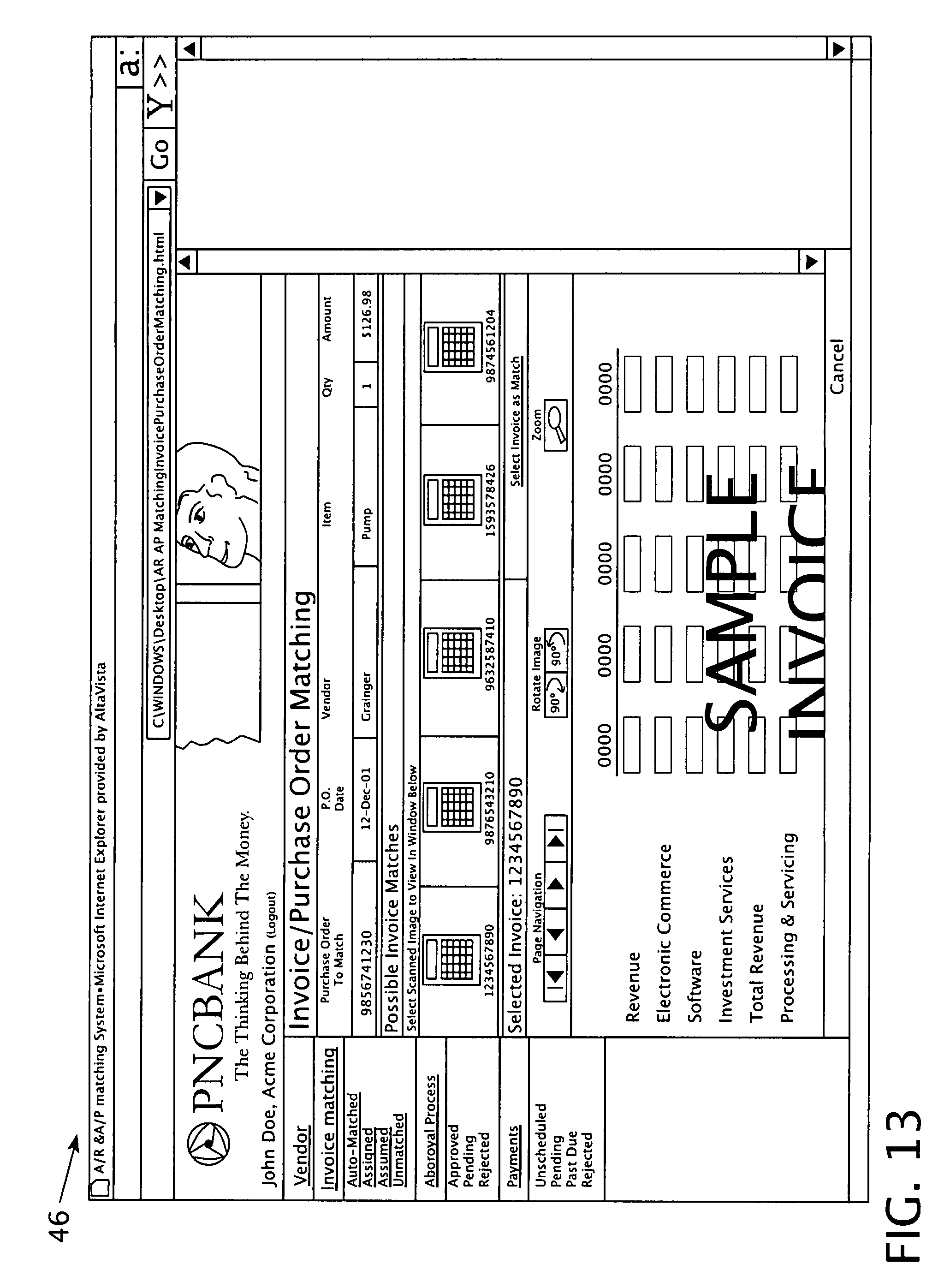 Invoice Aging Report Word Patent Us  Accounts Payable Process  Google Patentsuche Web Receipts Folder Excel with Send Paypal Invoice To Ebay Member Excel Patent Drawing Order Receipt Sample