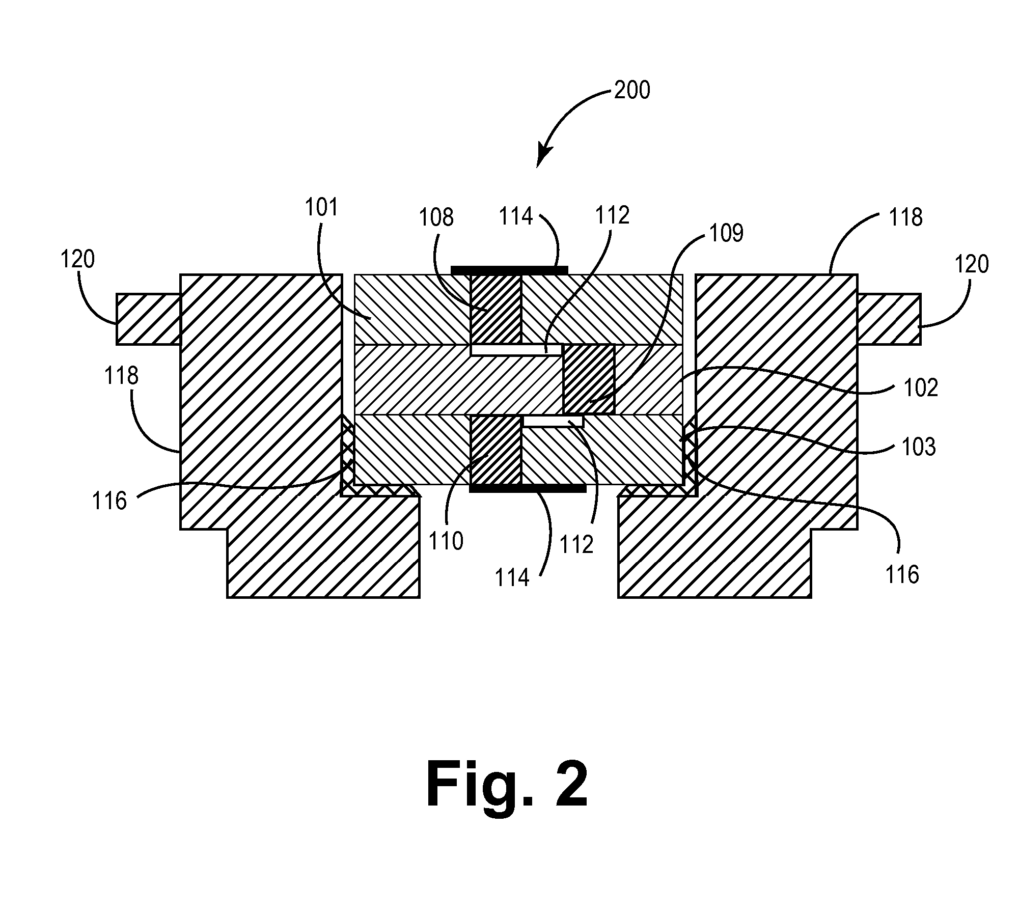 patent us20070236861 - implantable co-fired electrical feedthroughs