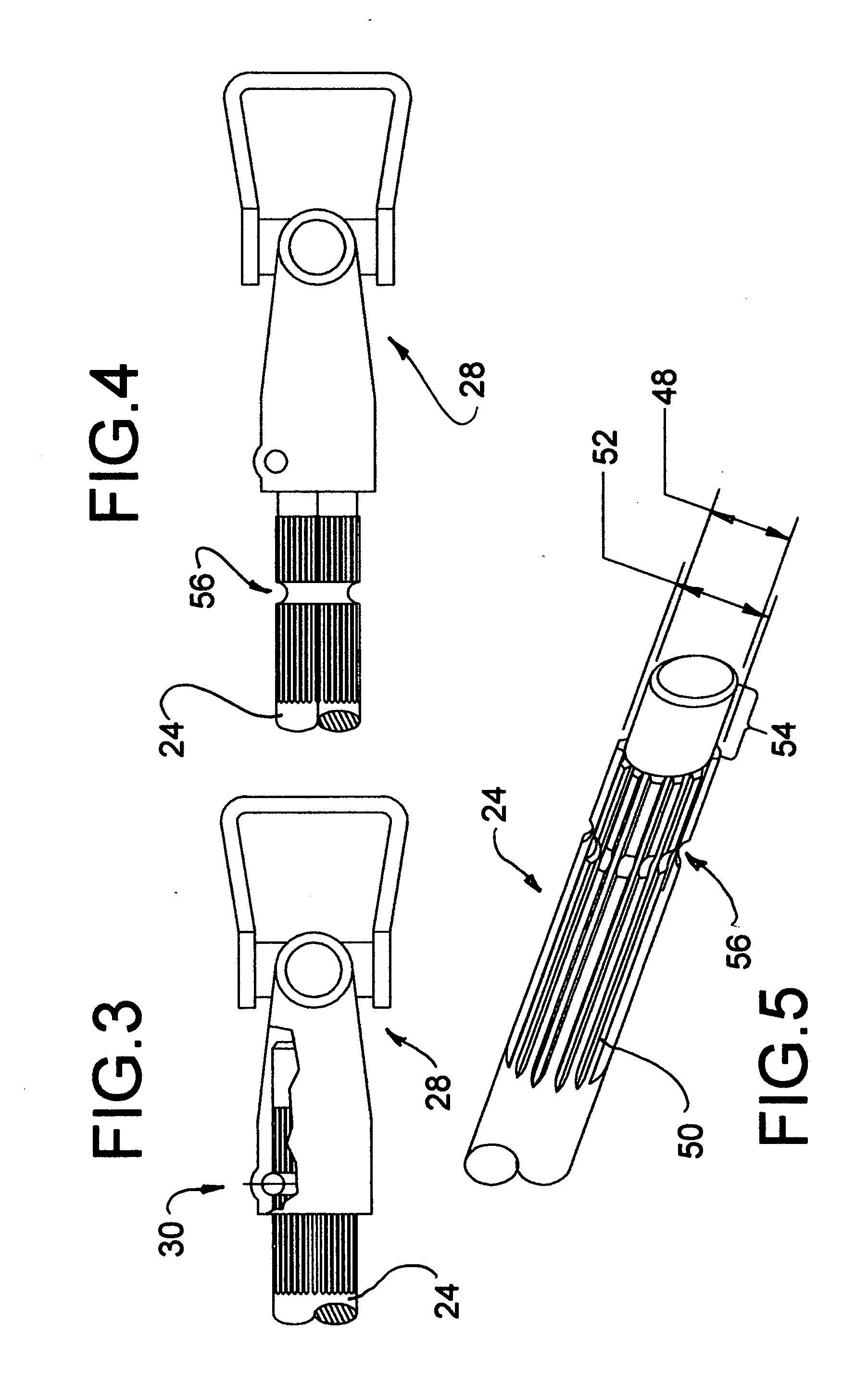 براءة الاختراع US20070246270 - Quick connect PTO shaft - براءات
