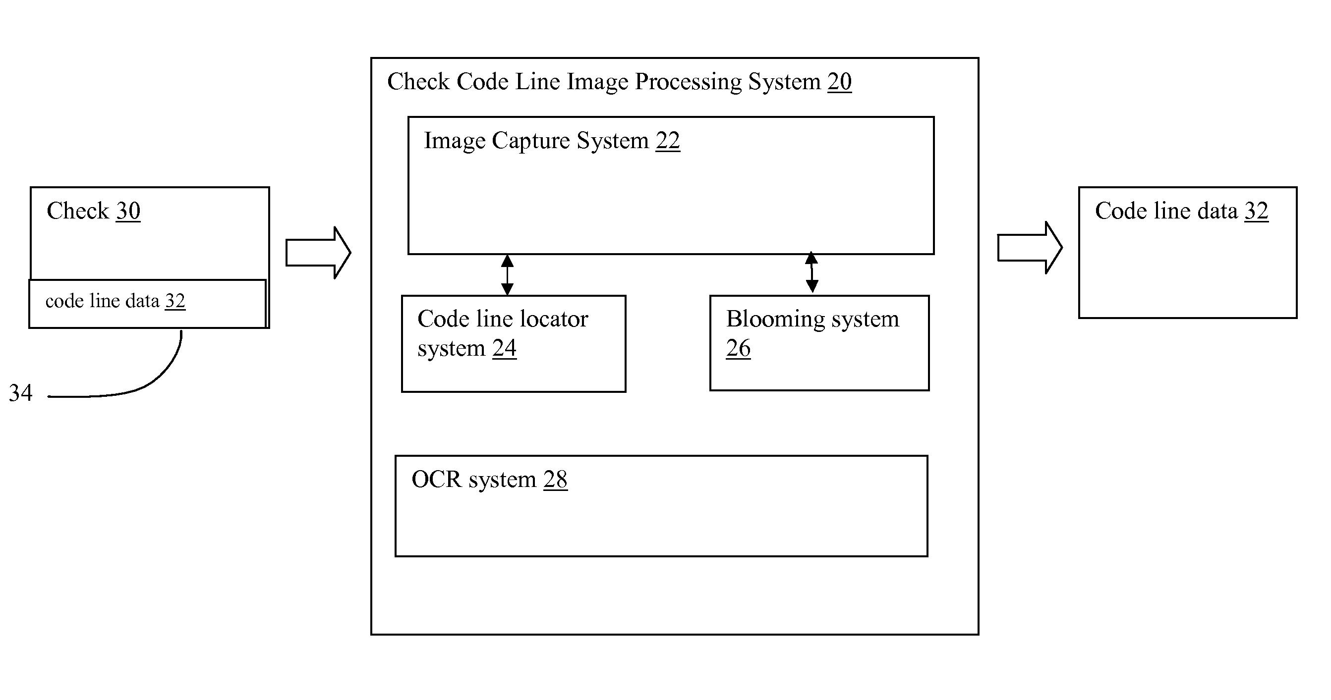 Patent US20070262146 - Enhanced check code line image