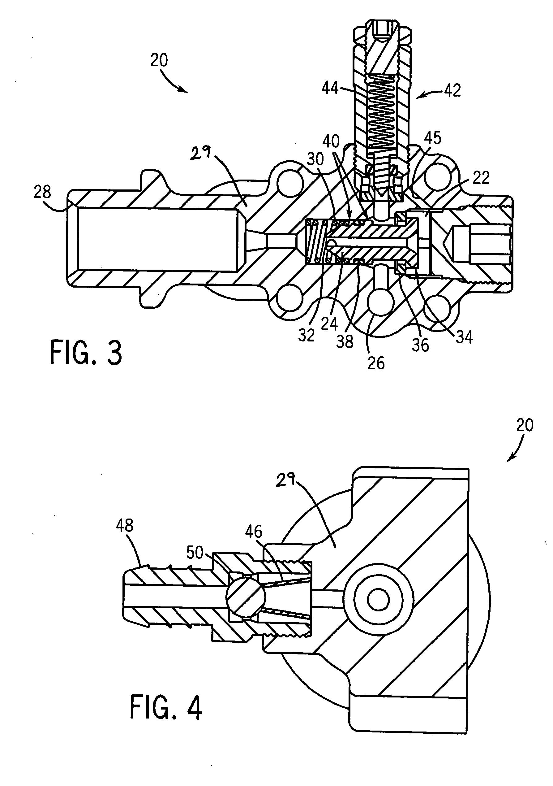patent us20070267063 unloader valve for pressurized fluid delivery AR Pressure Washer Unloader Valve patent drawing