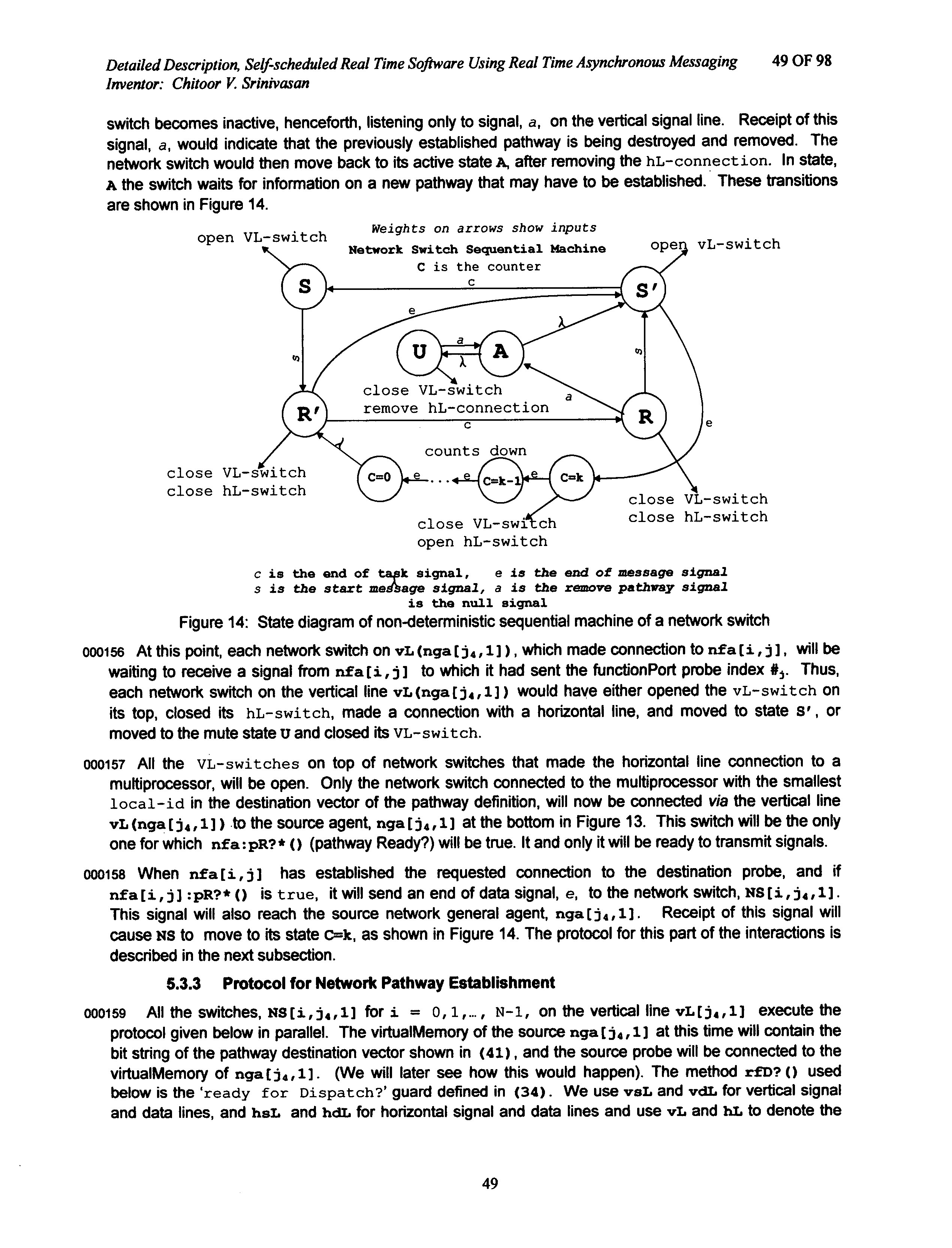 US20070277152A1 - Self-scheduled real time software using real time ...