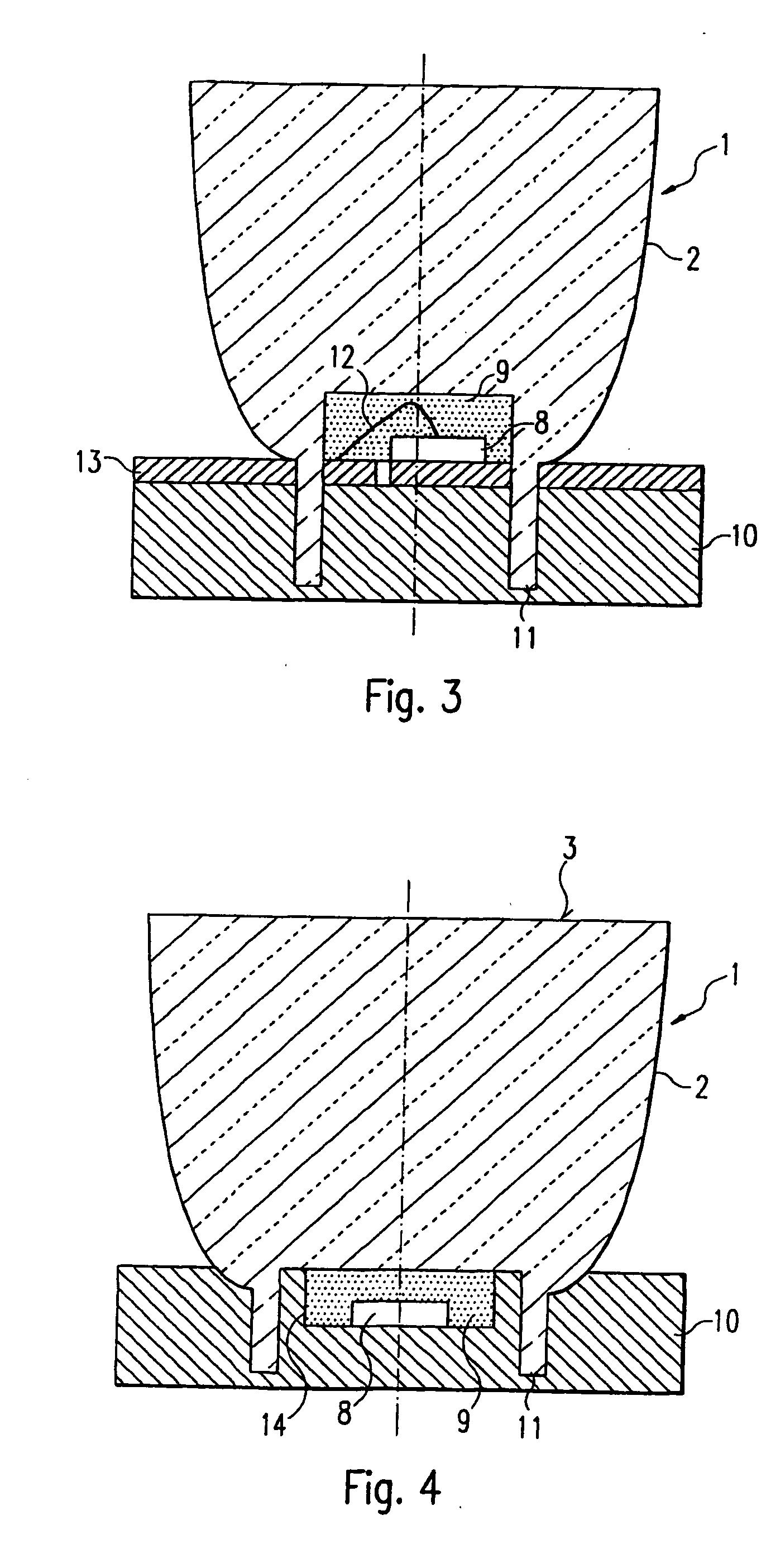 Patent US20070279904 - Led Spotlight Having A Funnel-Shaped