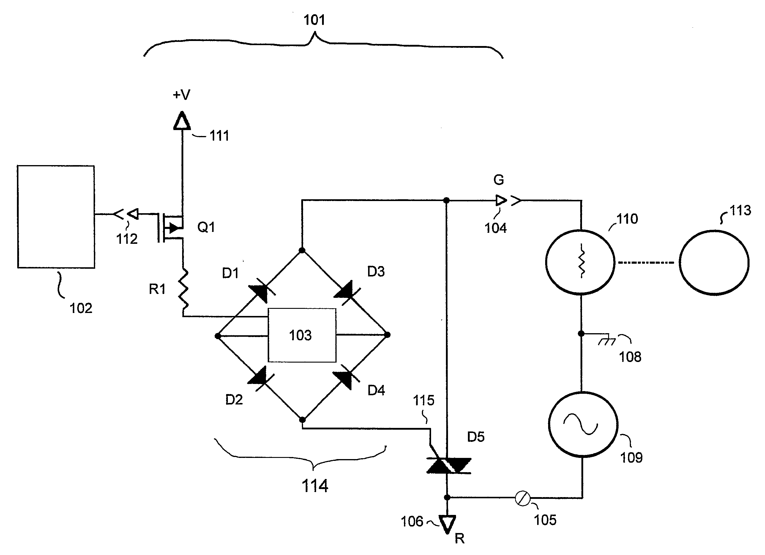 patent us20070296280 - power stealing for a thermostat using a triac with fet control