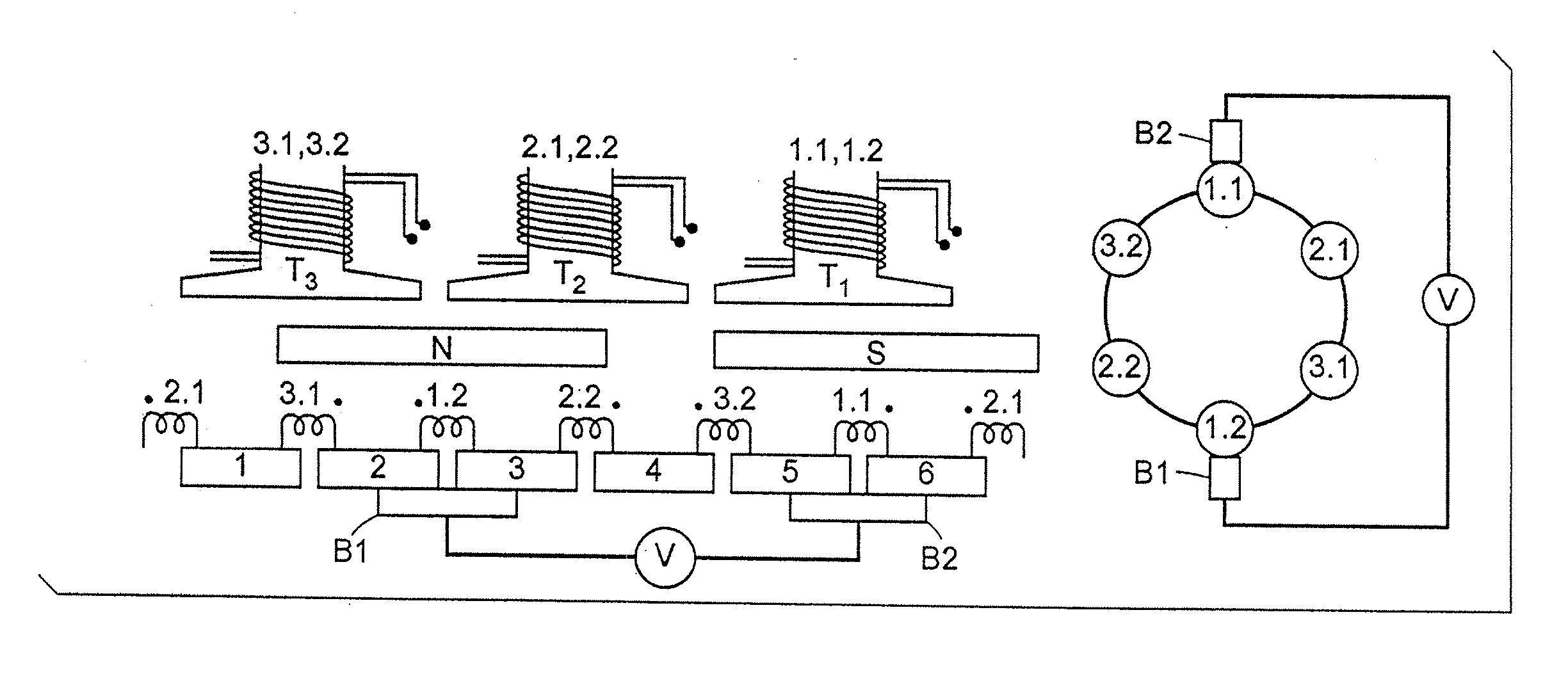 Patent Us20080001492 Brush Dc Motors And Ac Commutator