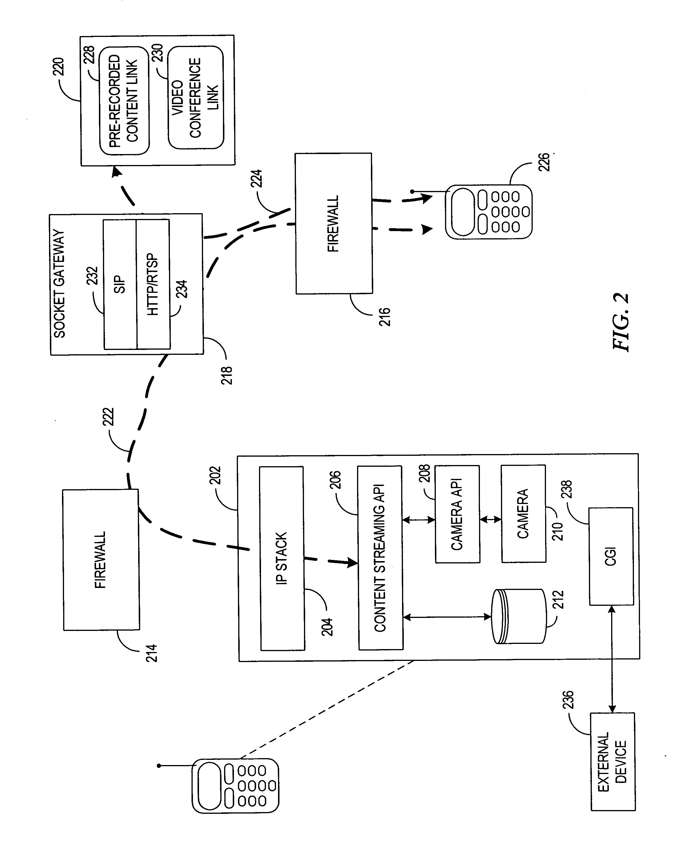 patent us20080010676 system apparatus and method for accessing TCP IP Protocol Suite patent drawing