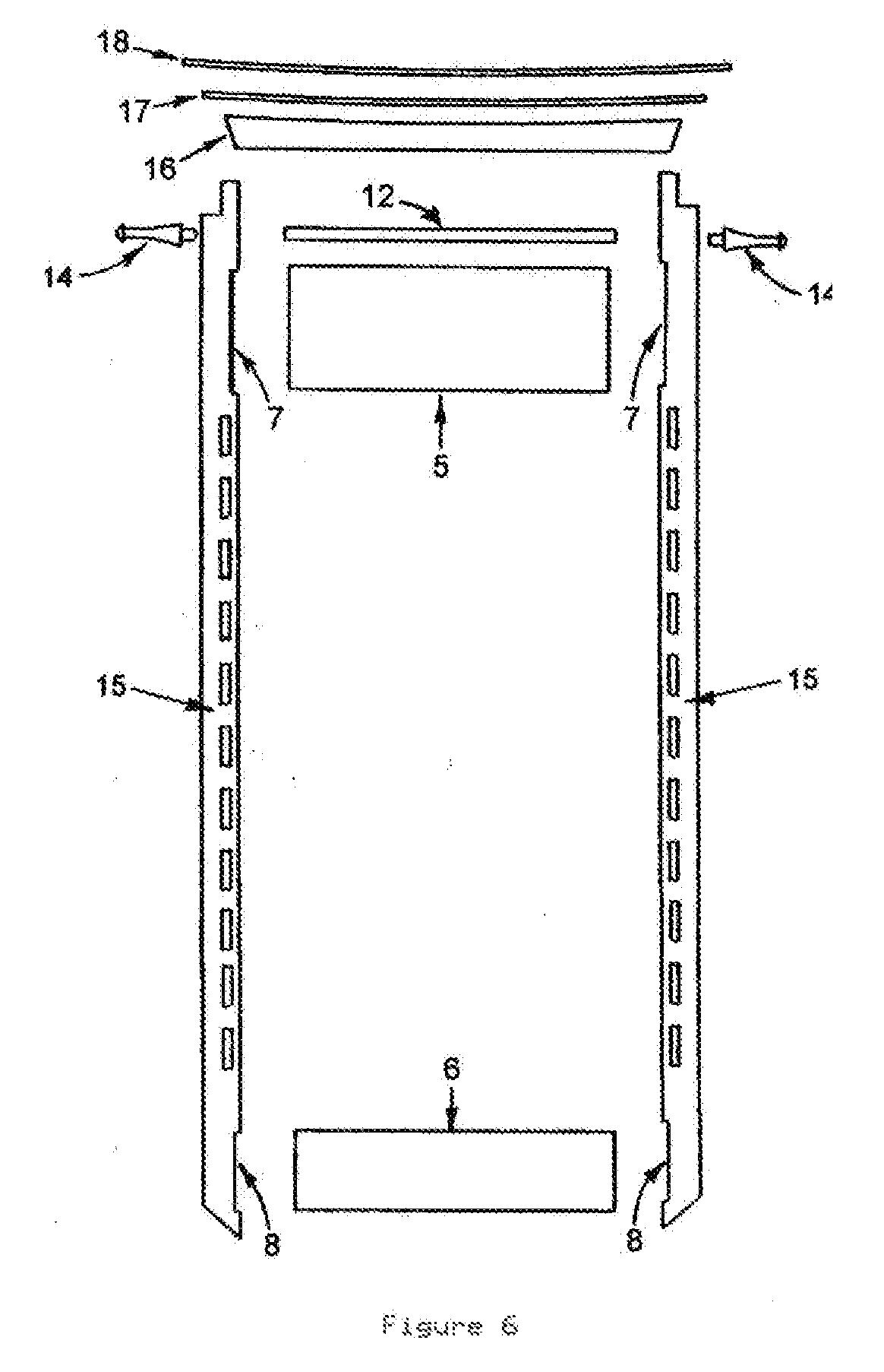 Patent Us20080017599 Martial Arts Belt Display Rack