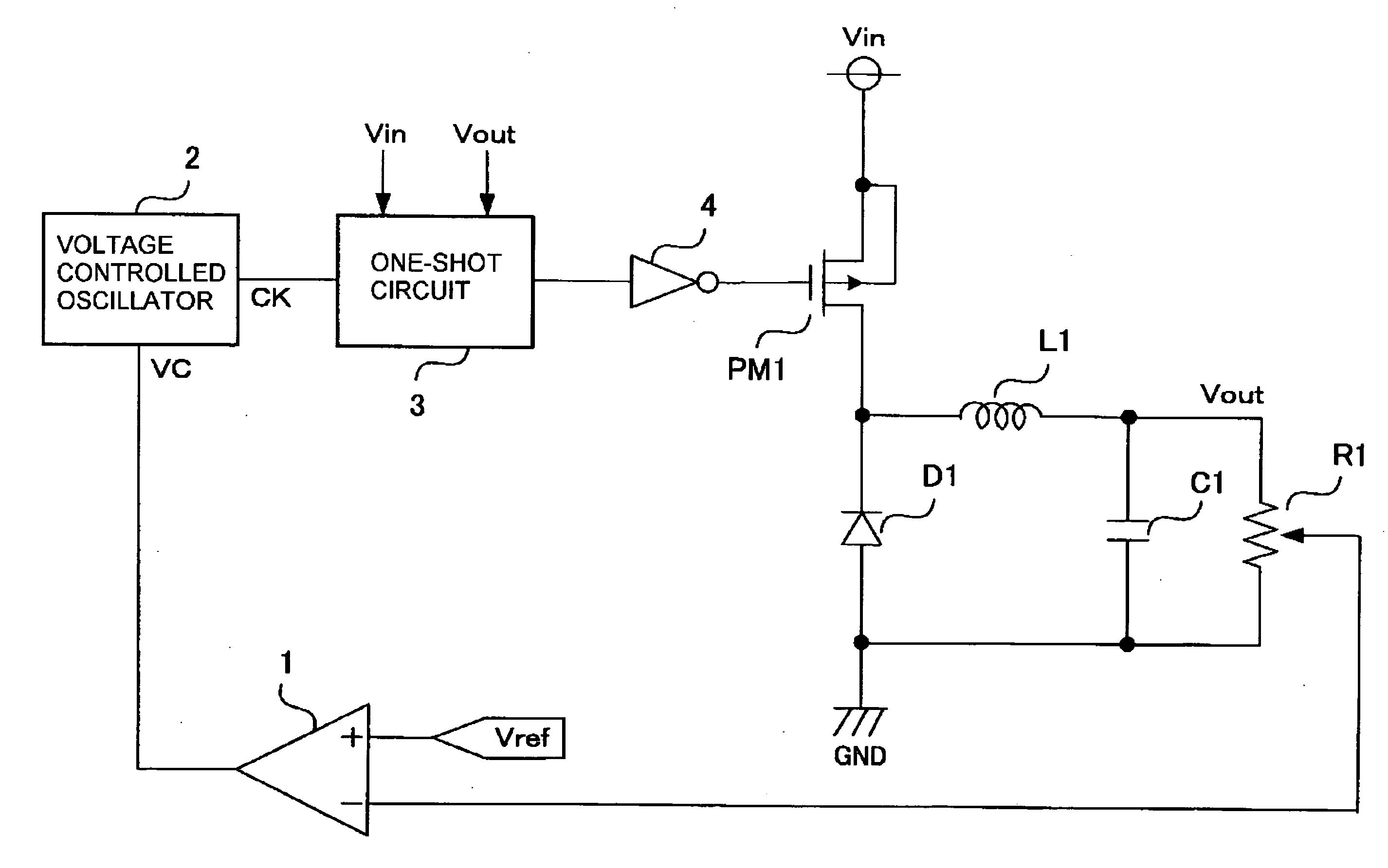 Patent Us20080024104 Dc Converter Google Patents Vco Circuit Diagram Drawing