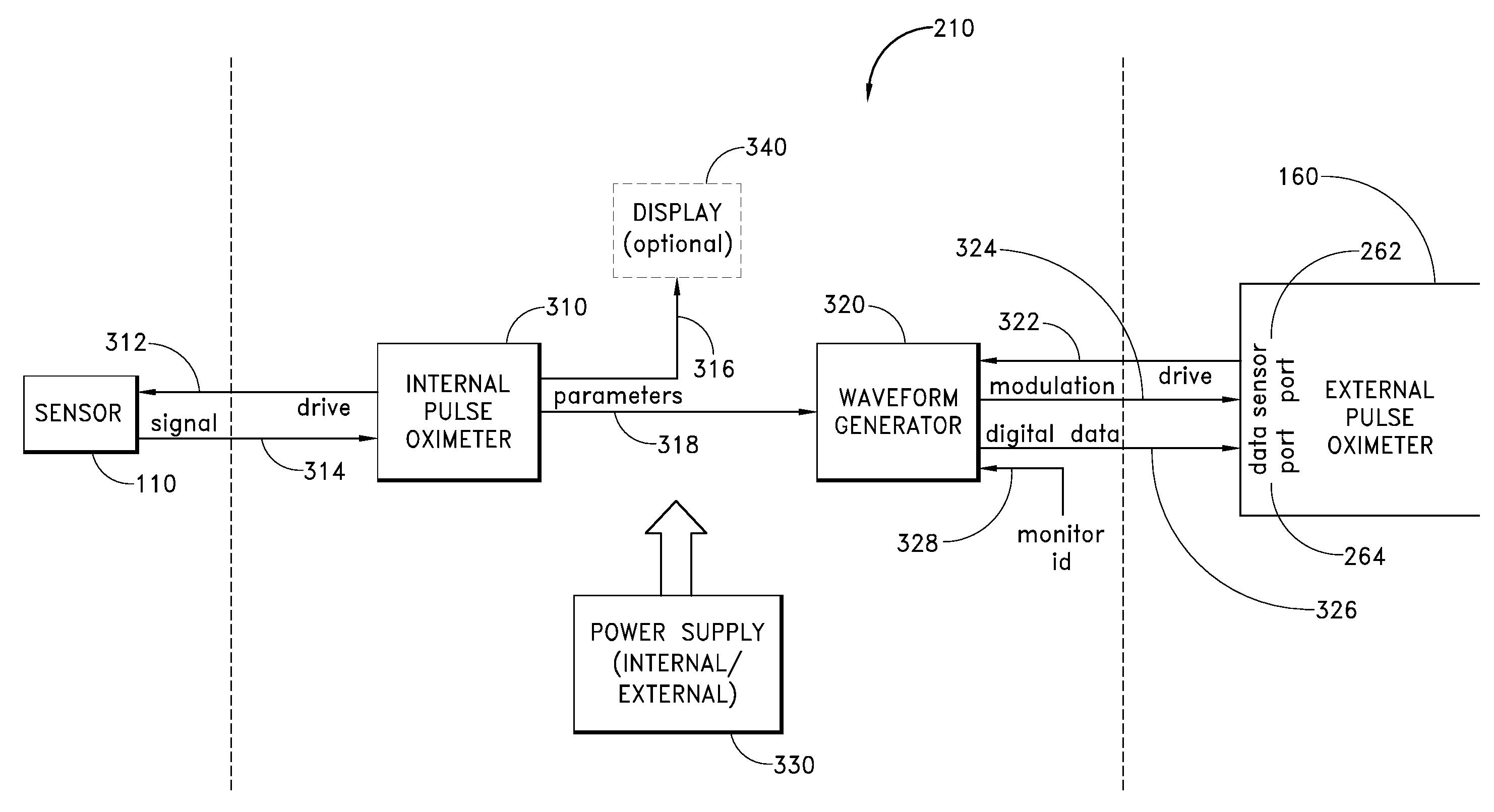 Patent us20080039701 dual mode pulse oximeter google patentsuche patent drawing ccuart Images