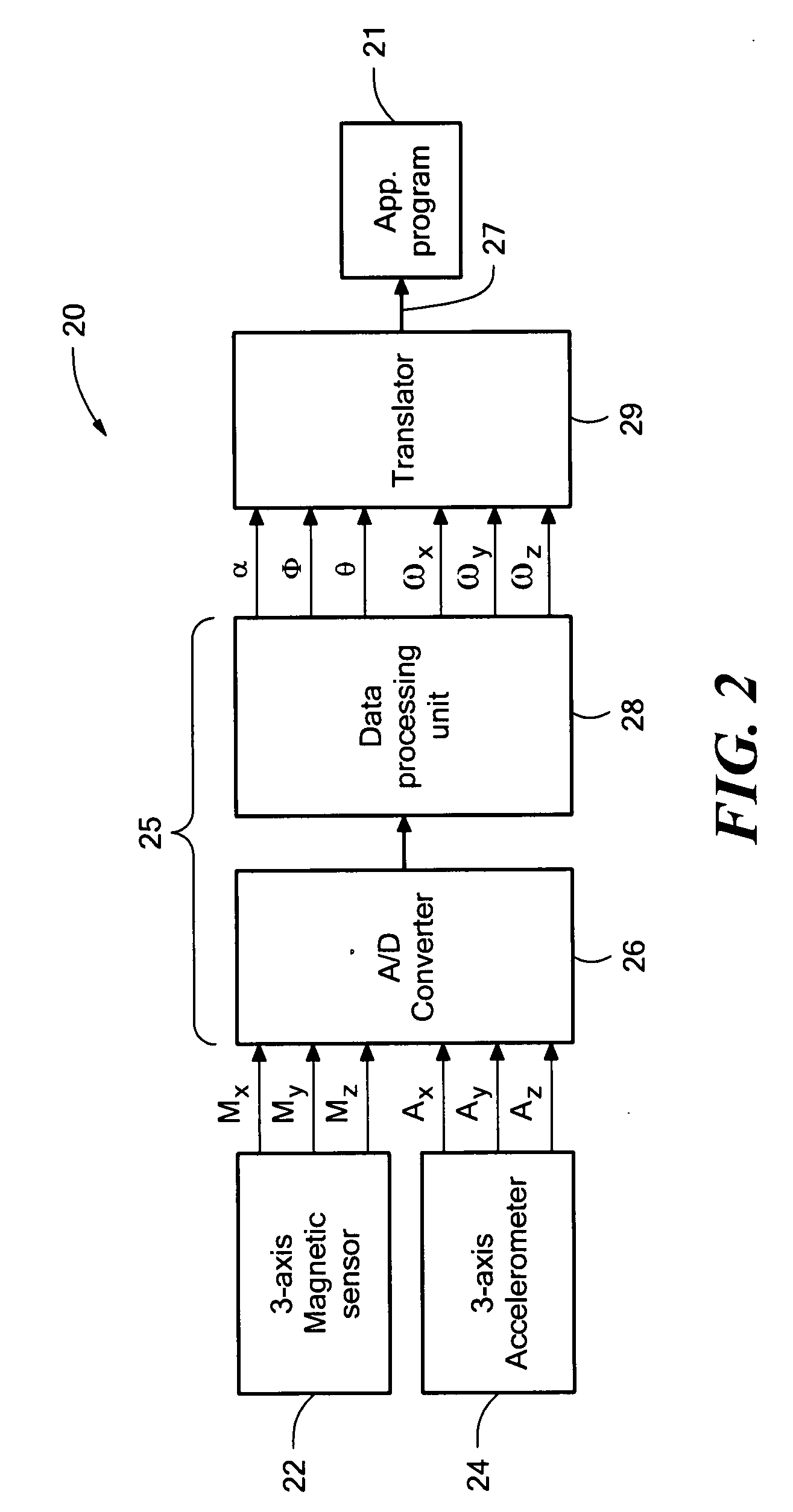 Patent US20080042973 - System for sensing yaw rate using a magnetic
