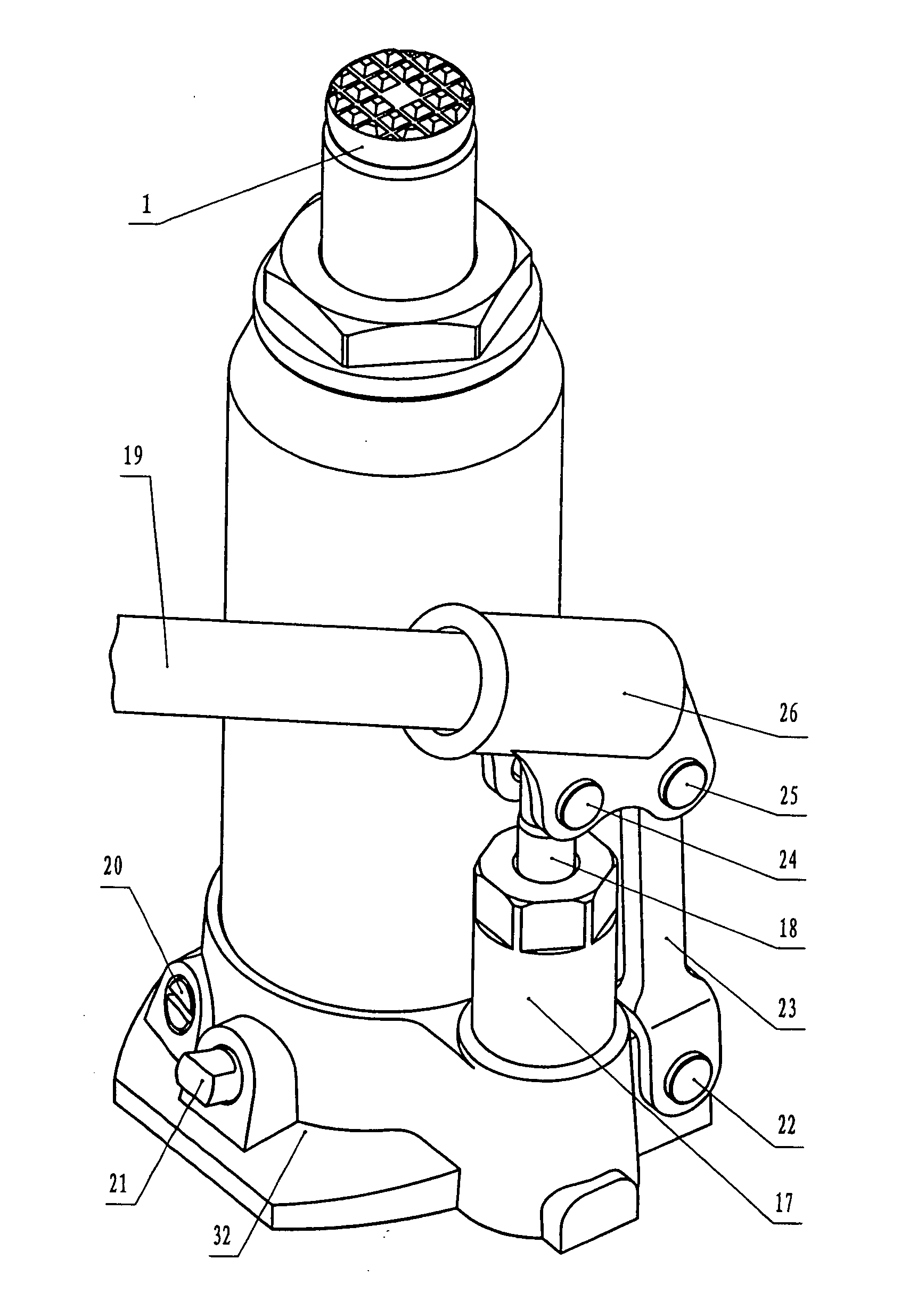 black jack hydraulic bottle jack instructions