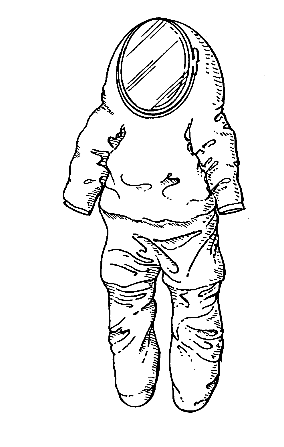 space suit drawing - photo #3