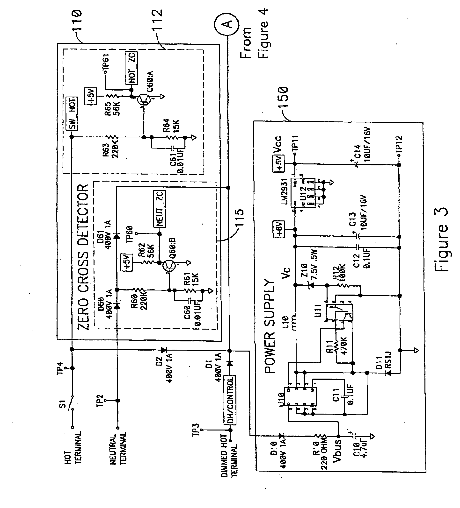 Patent Us20080094010 Electronic Control Systems And Methods D61 Wiring Diagram Drawing