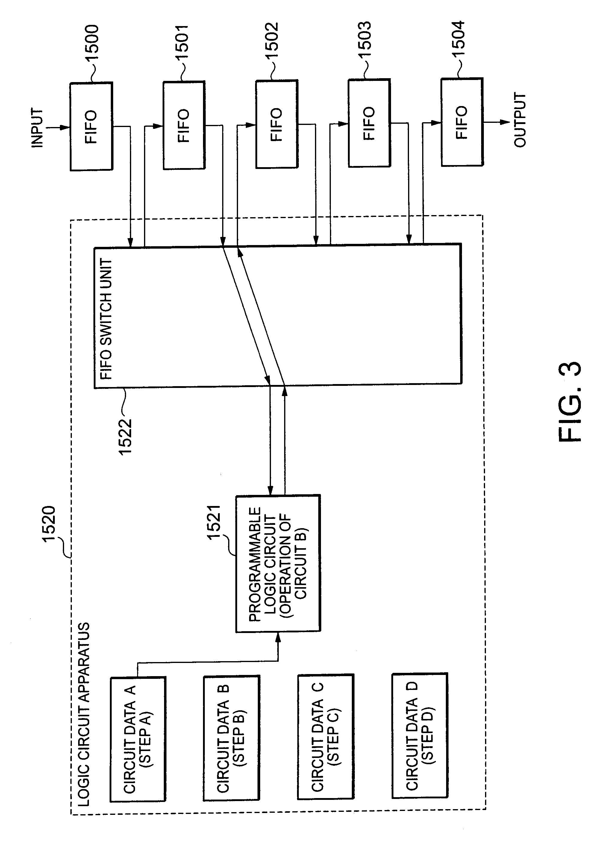 patent us20080100338 - logic circuit apparatus