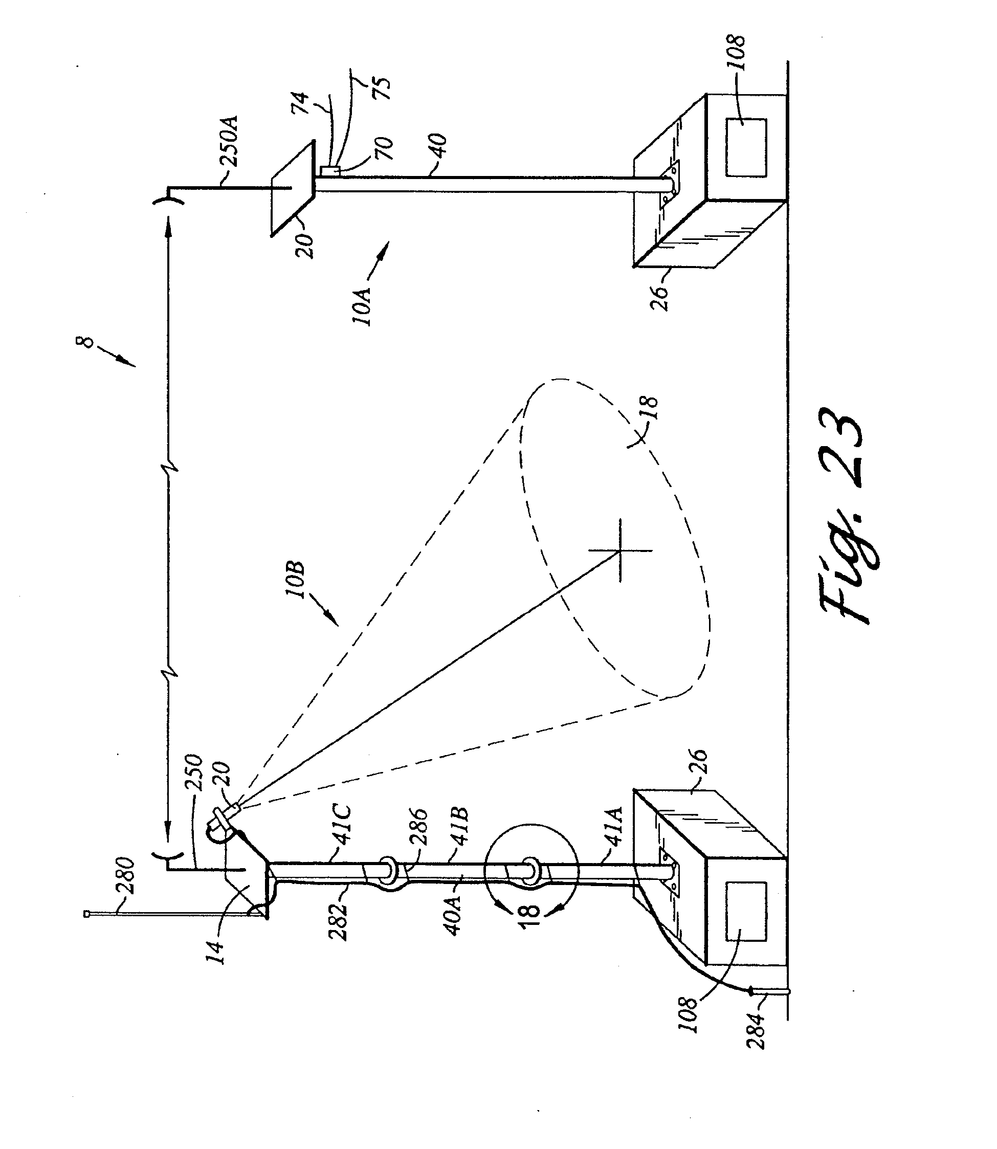 patent us20080100707 temporary surveillance system patents Telescoping Pole Cam Plug patent drawing