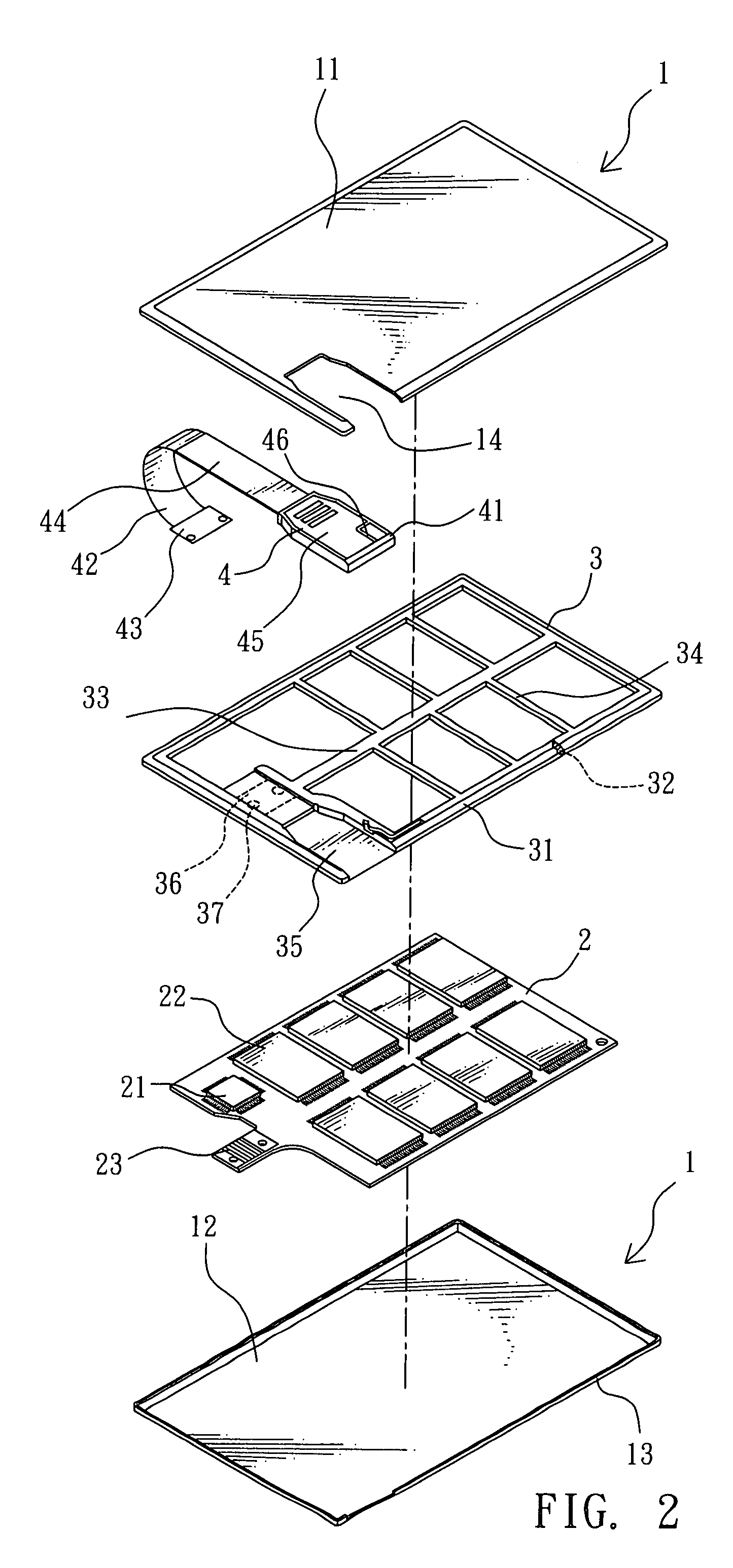 patent us business card sized storage device google