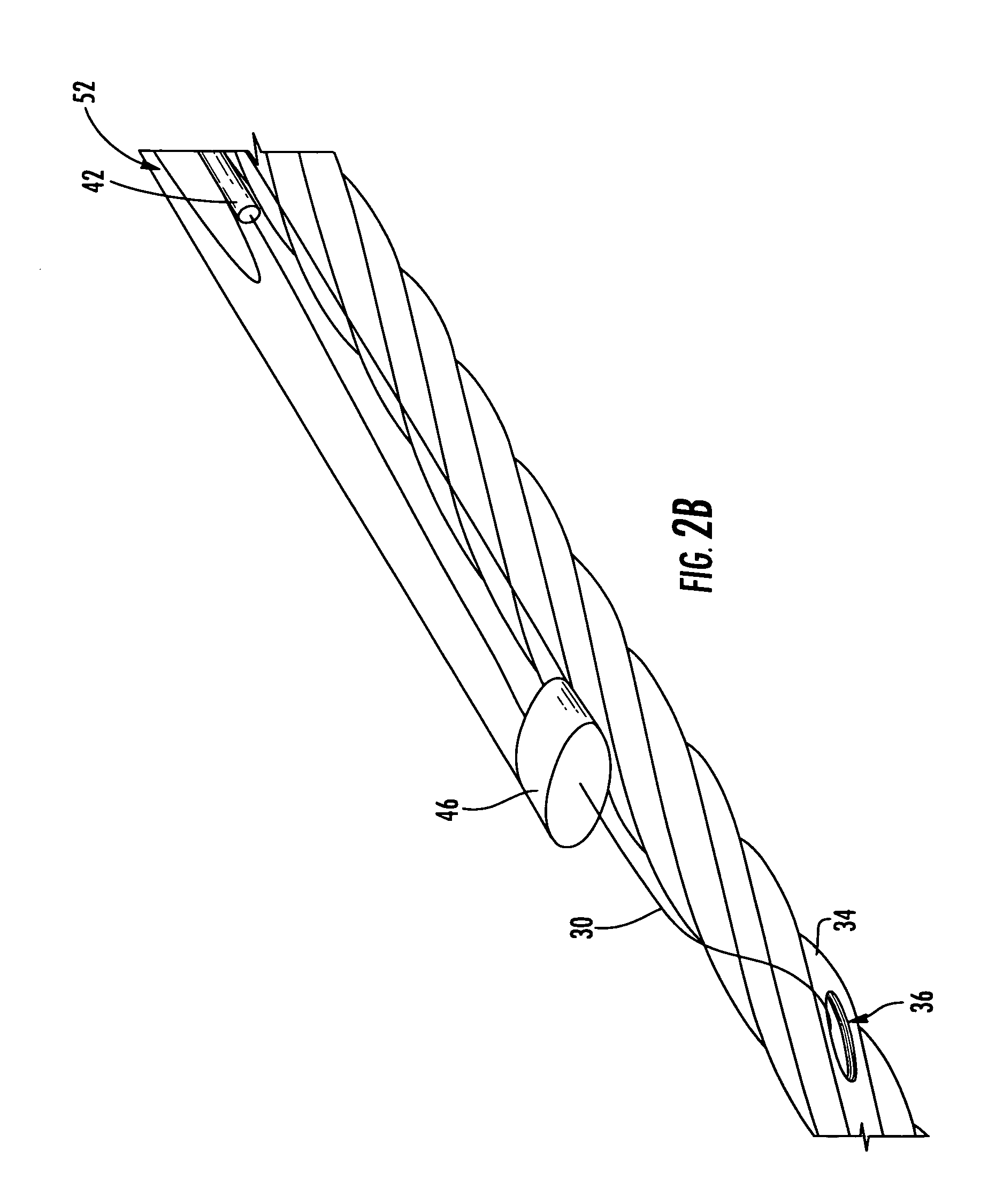 patent us20080112675 - cable assembly having bend performance optical fiber slack coil