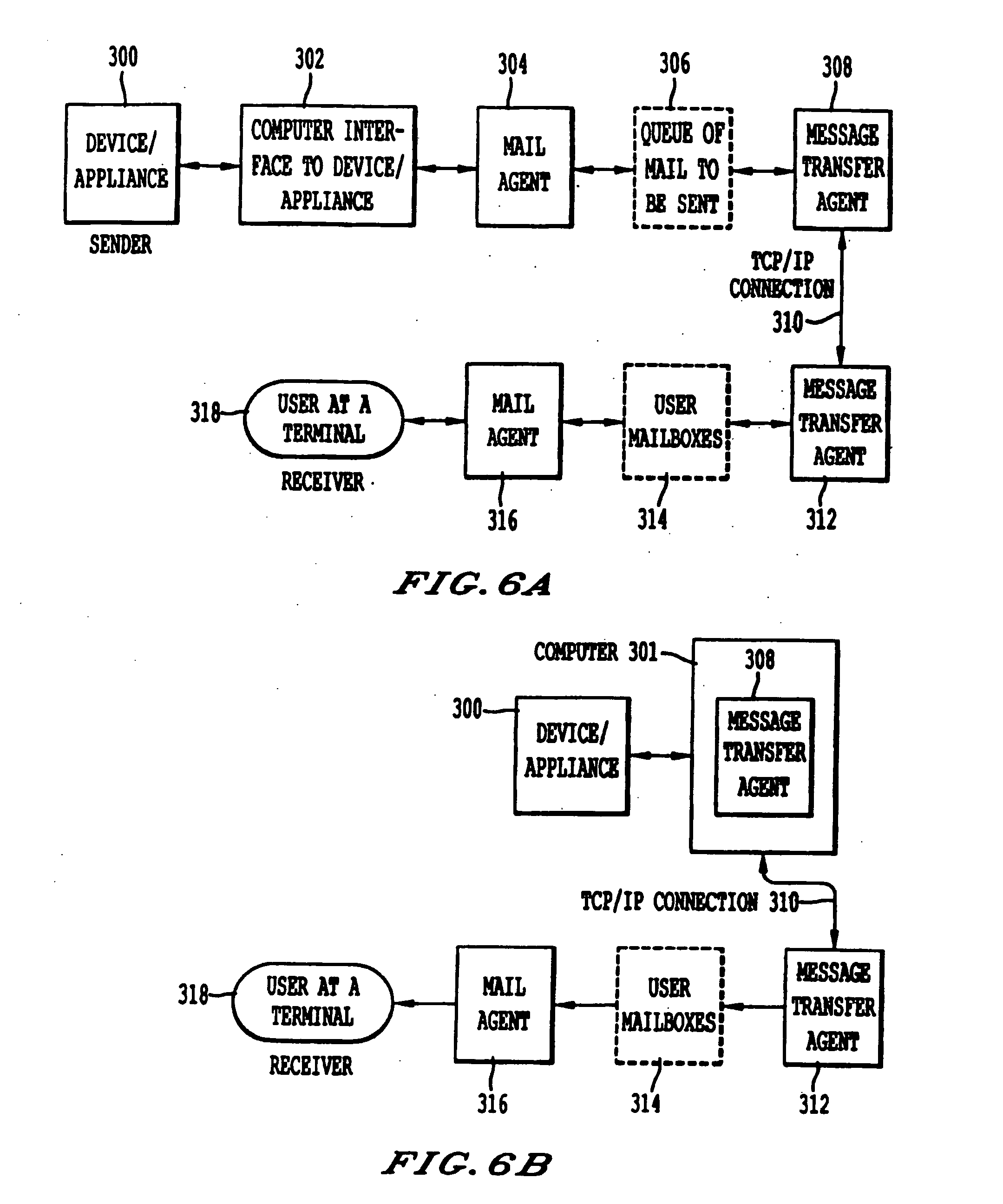 Patent Us20080126530 System Method And Computer Program Product 302 188 Wiring Diagram Drawing