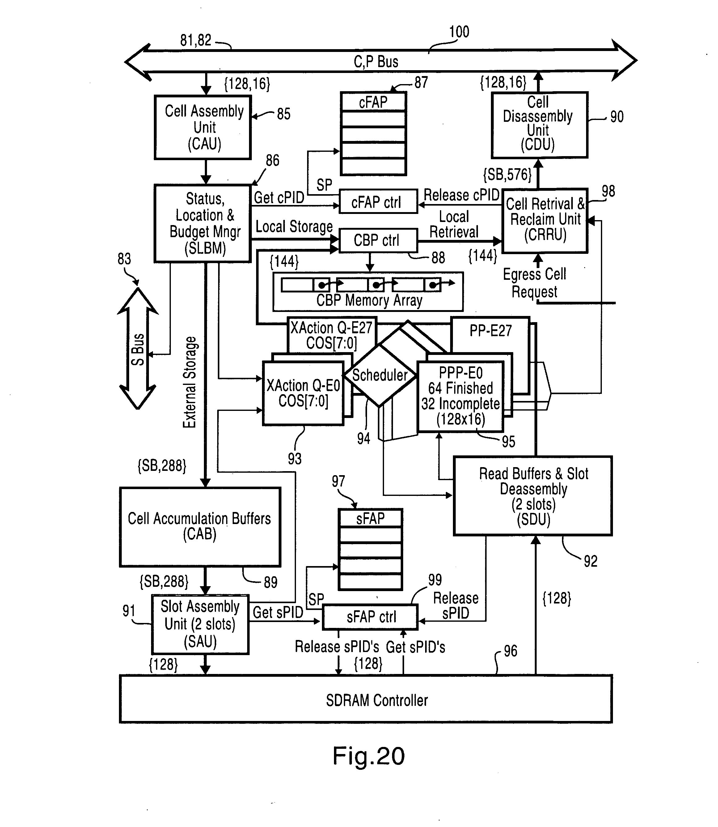patent us20080130655 memory management unit for a network switch SSL OSI Model patent drawing
