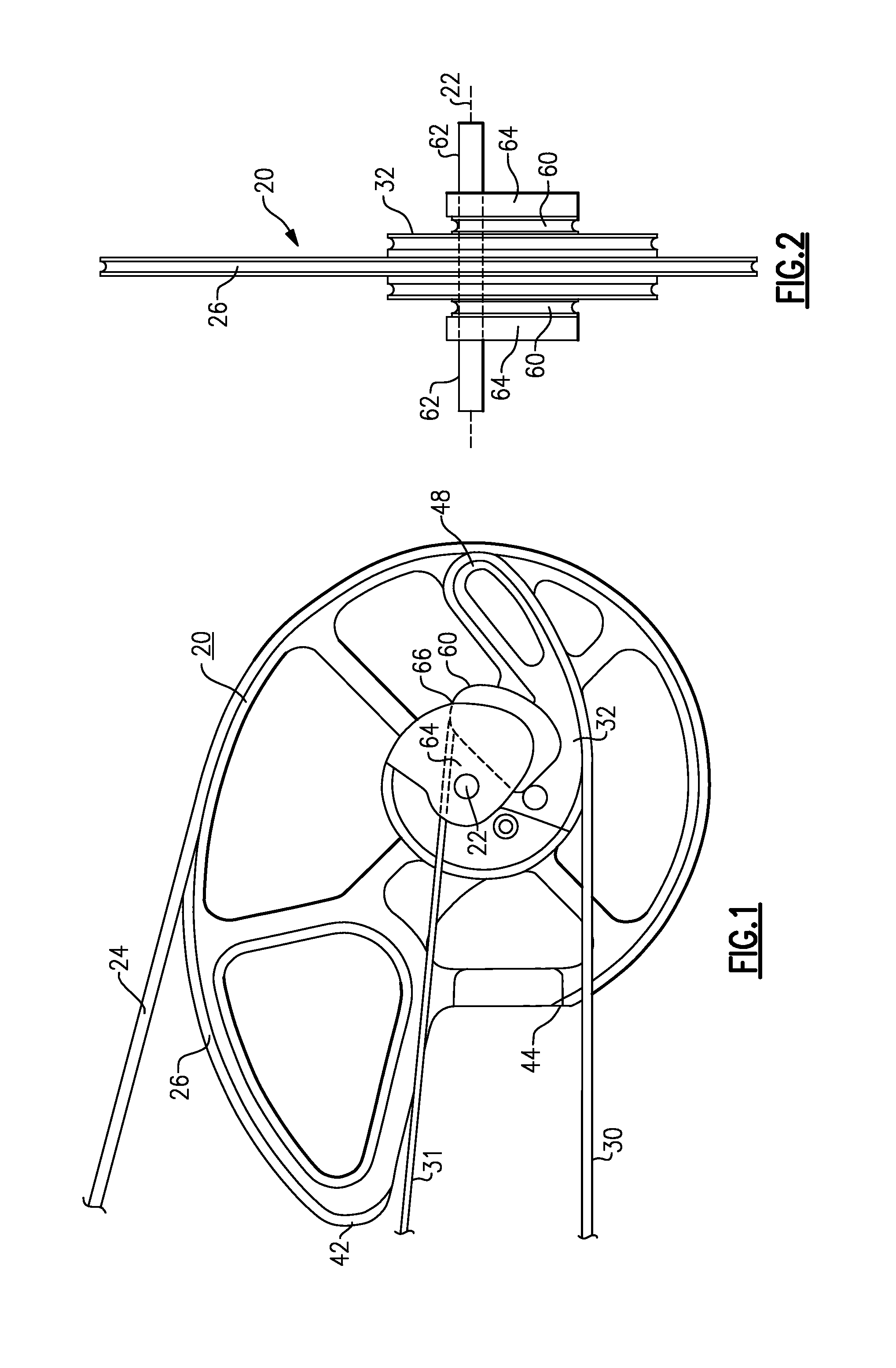 Patent US20080135032 - Bowstring Cam for Compound Bow - Google Patents