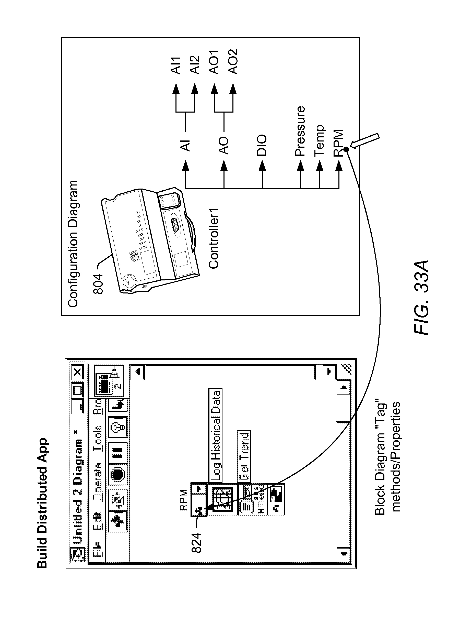 patent us20080141174 graphical deployment of a program to a device