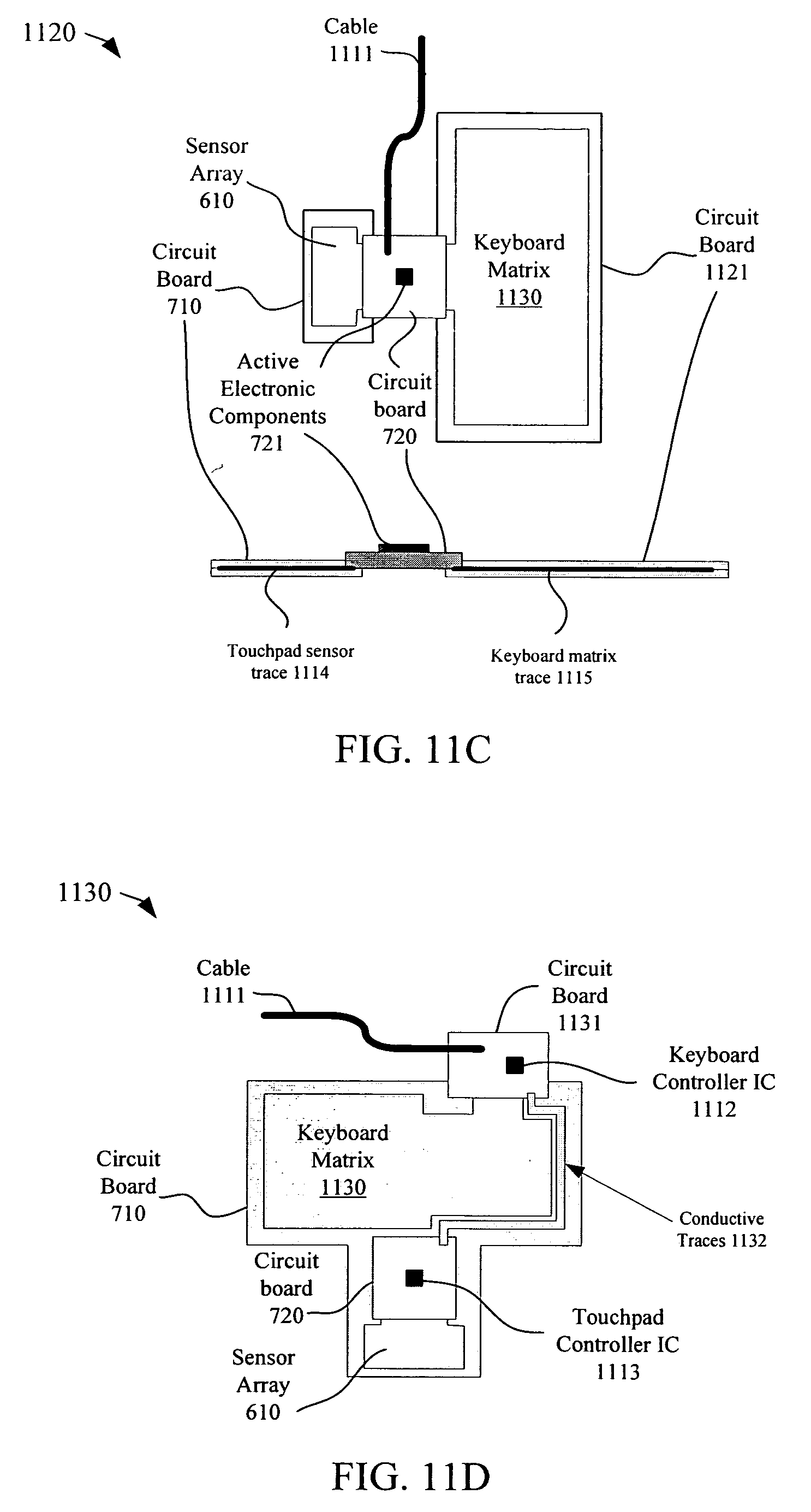 Patent Us20080142352 Two Circuit Board Touch Sensor Device Pcb Printed Boardcircuit For Led Light 0011 Drawing