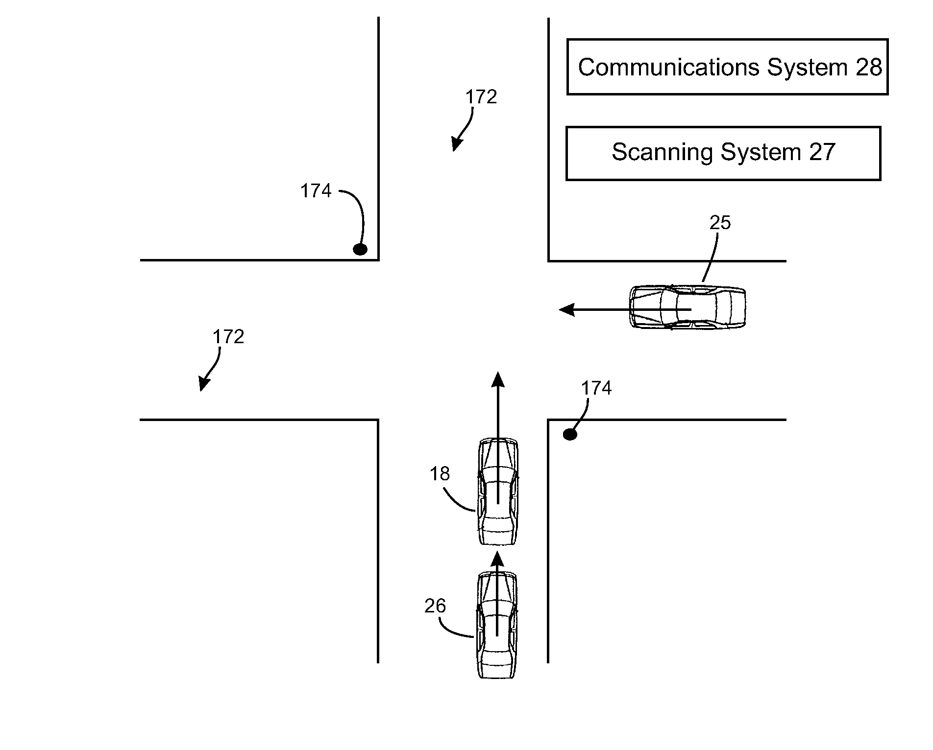 Patent Us20080167821 Vehicular Intersection Management Techniques Afrl Seeks Info On Future Electronic Warfare Ew Receiver Systems Drawing