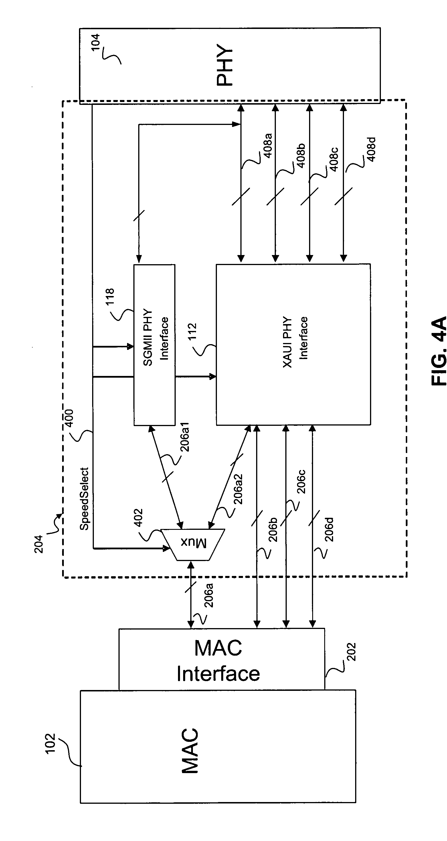 Patent US20080170586 - Multi-rate MAC to PHY interface
