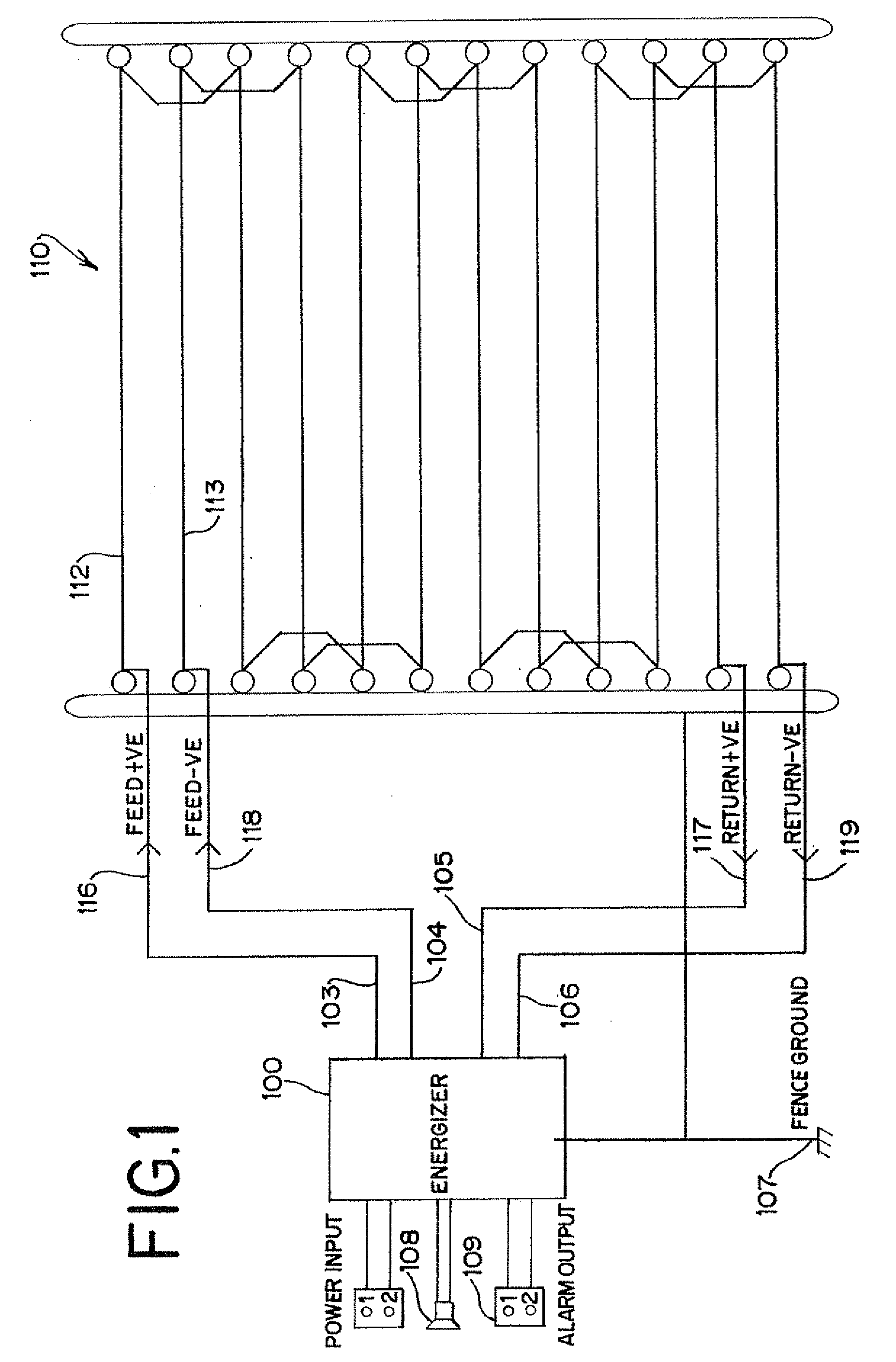patent us20080186172 - intrusion detection system for ... intrusion system wiring diagram