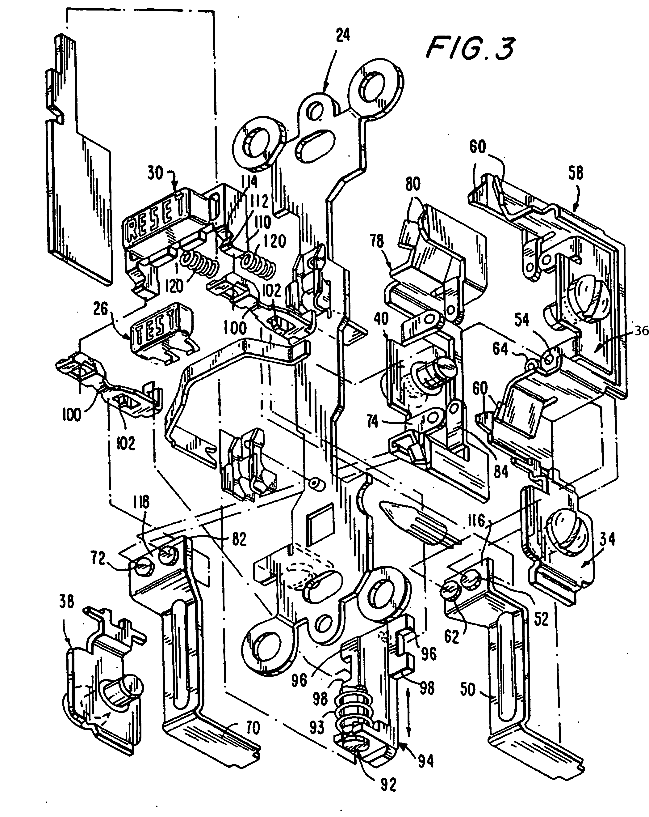 bathroom gfci wiring wiring diagram database Wall Outlet Wiring patent us20080186642 circuit interrupting device with reset bathroom electrical circuit bathroom gfci wiring