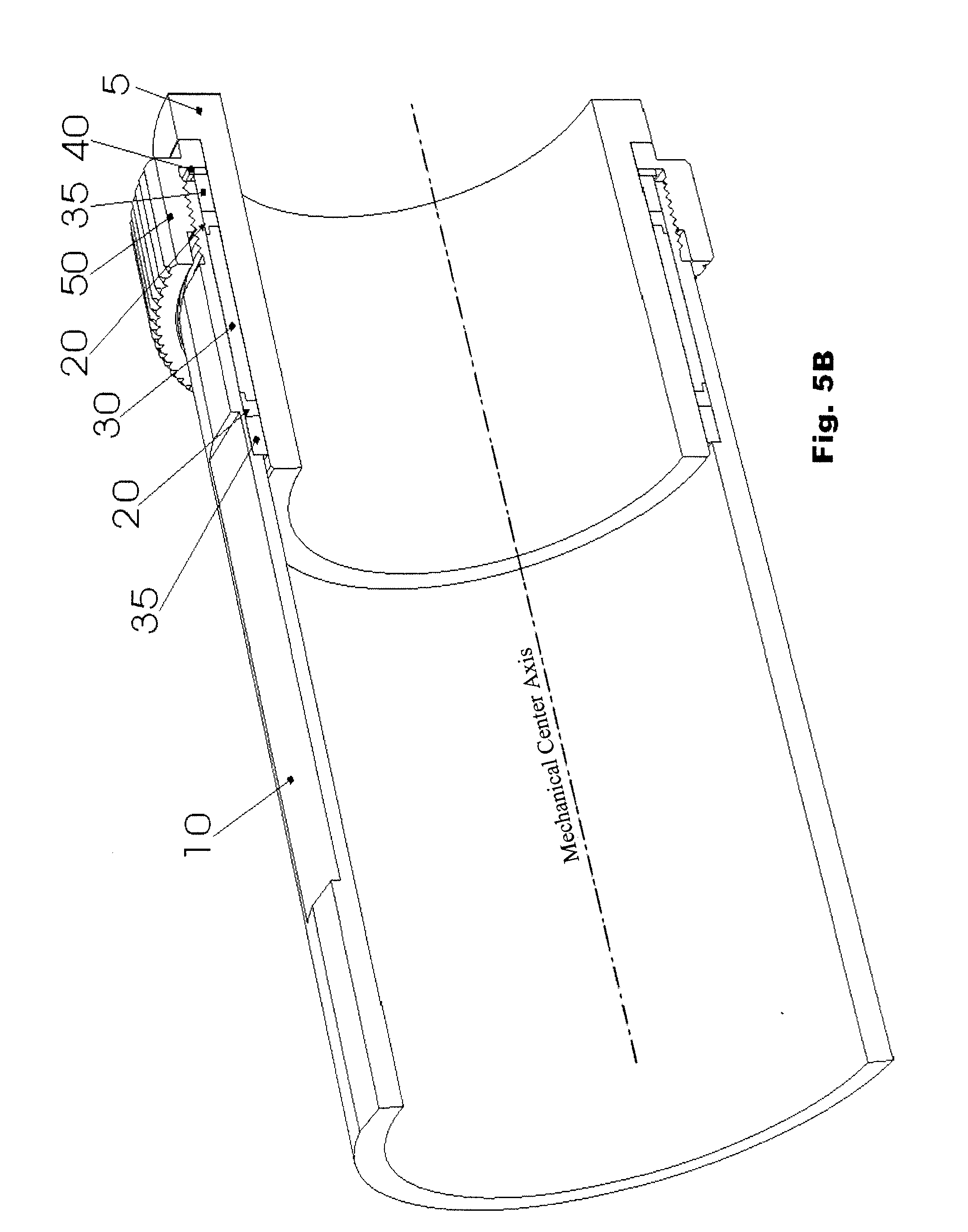 patente us20080191473 self centering adapter cl 20 to 30 HP Tractors patent drawing