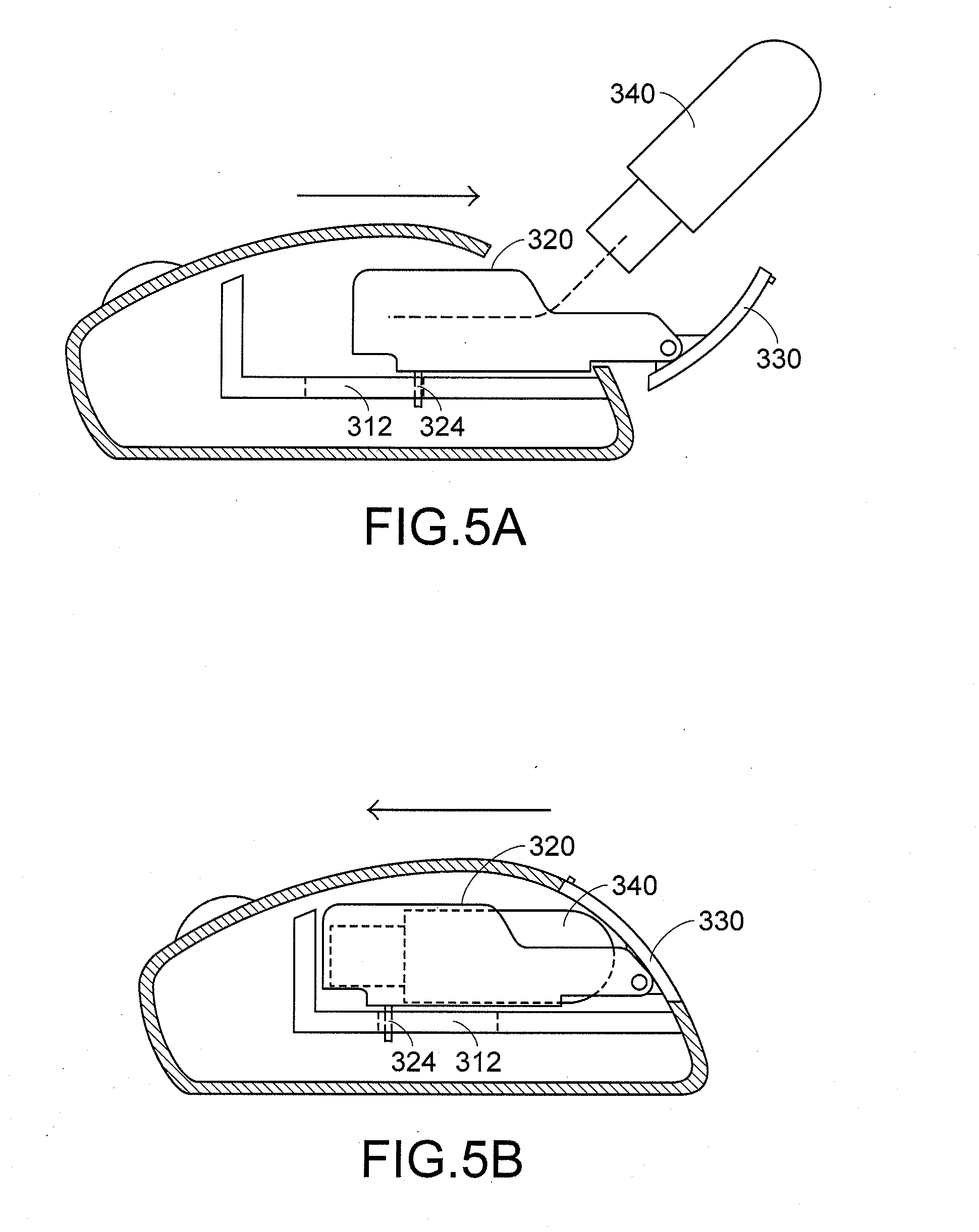 patent us20080192009 storing structure of wireless mouse for patent drawing