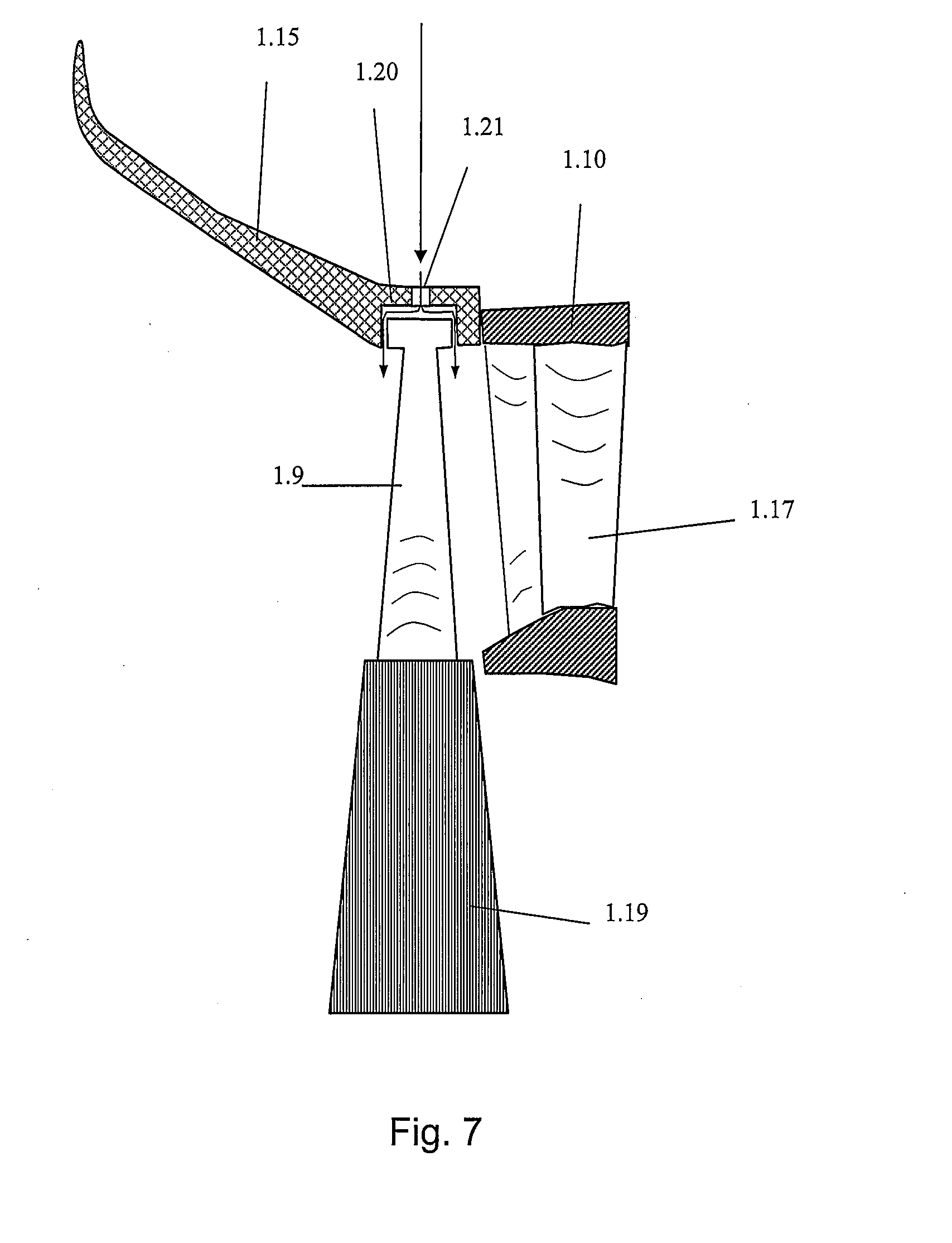 Outstanding Patent Us20080219842 Turbine Part Of A Turbocompressor And A Hairstyles For Men Maxibearus